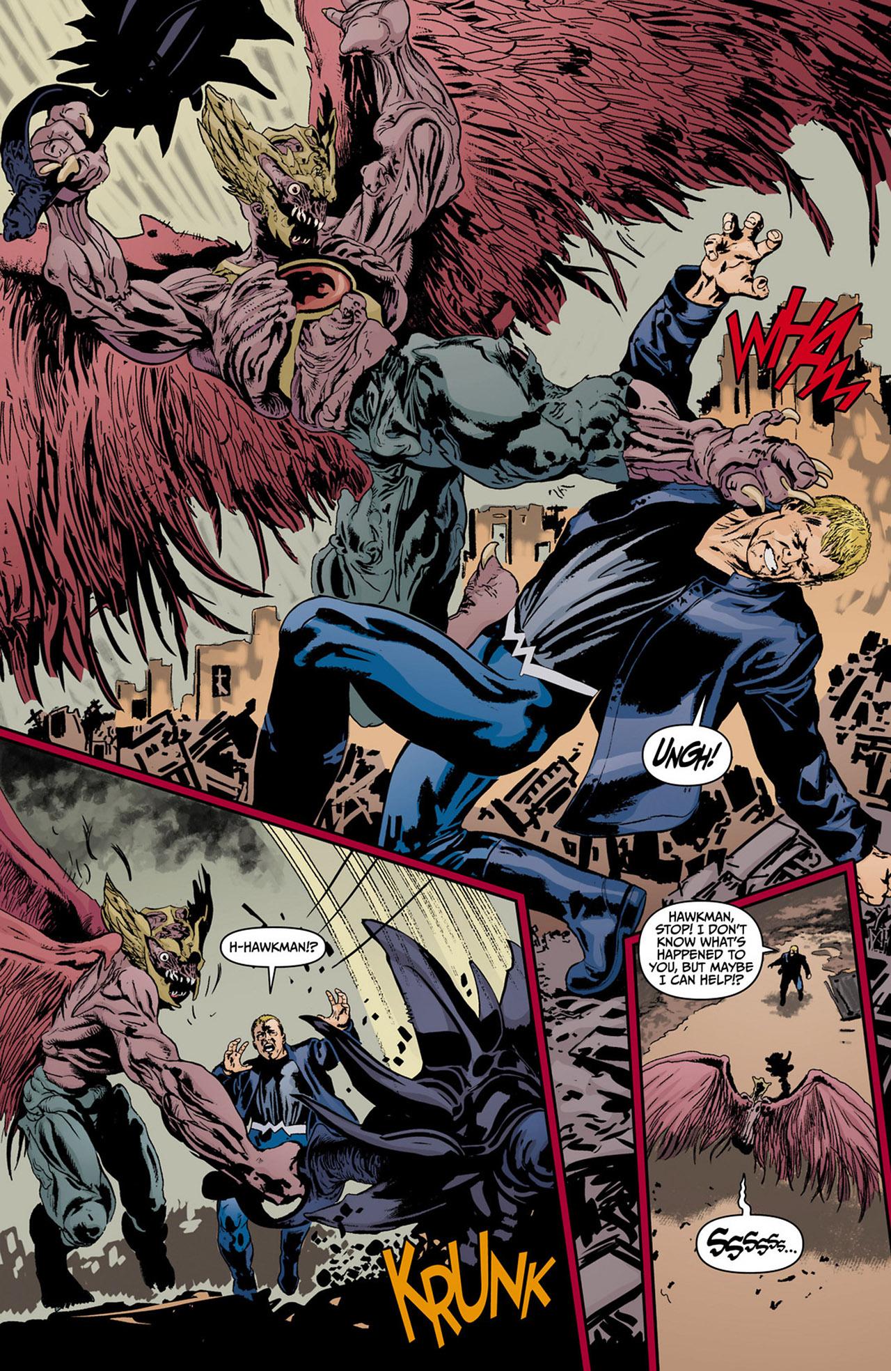 Read online Animal Man (2011) comic -  Issue #13 - 4