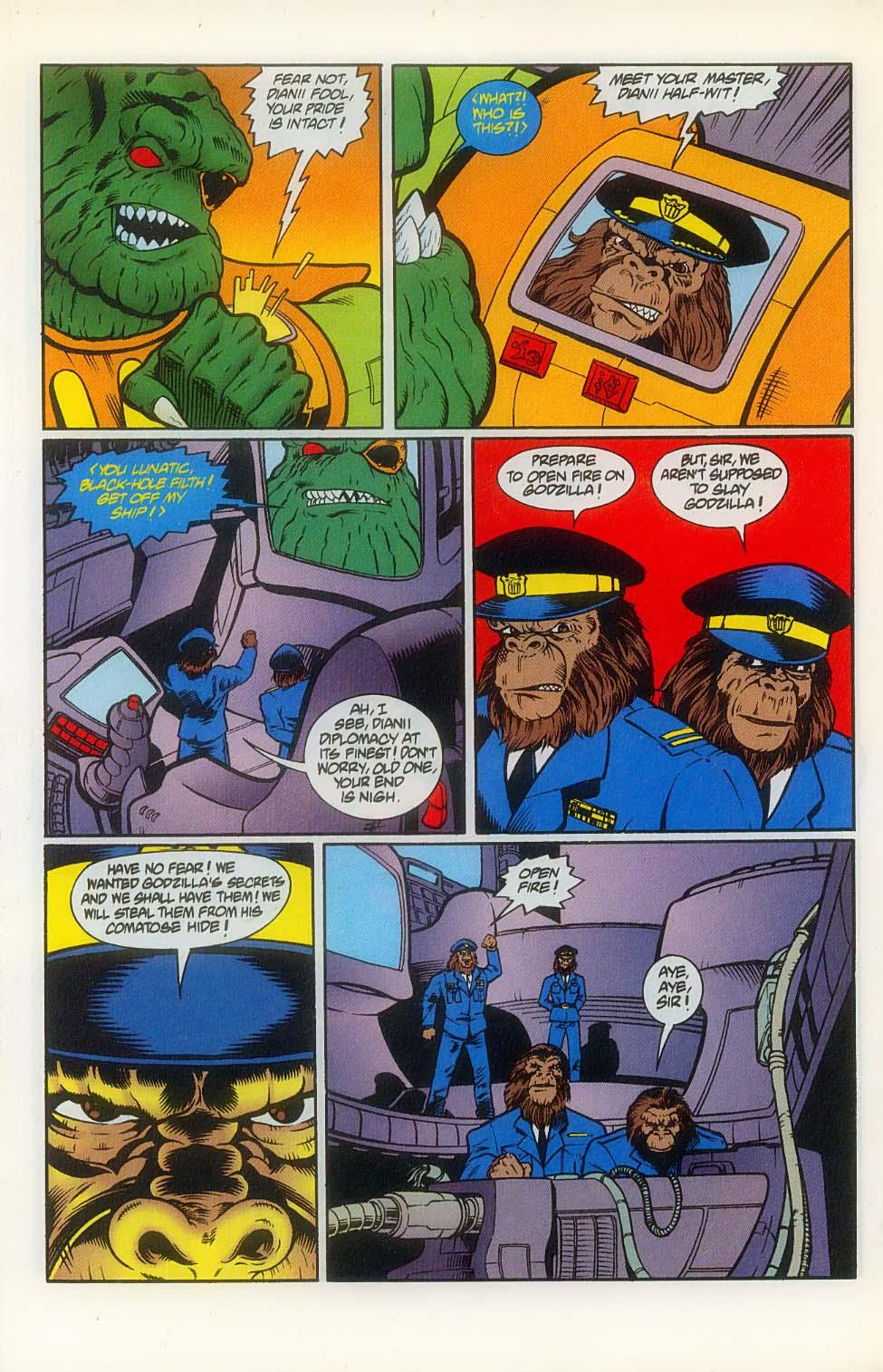 Godzilla (1995) Issue #8 #9 - English 16