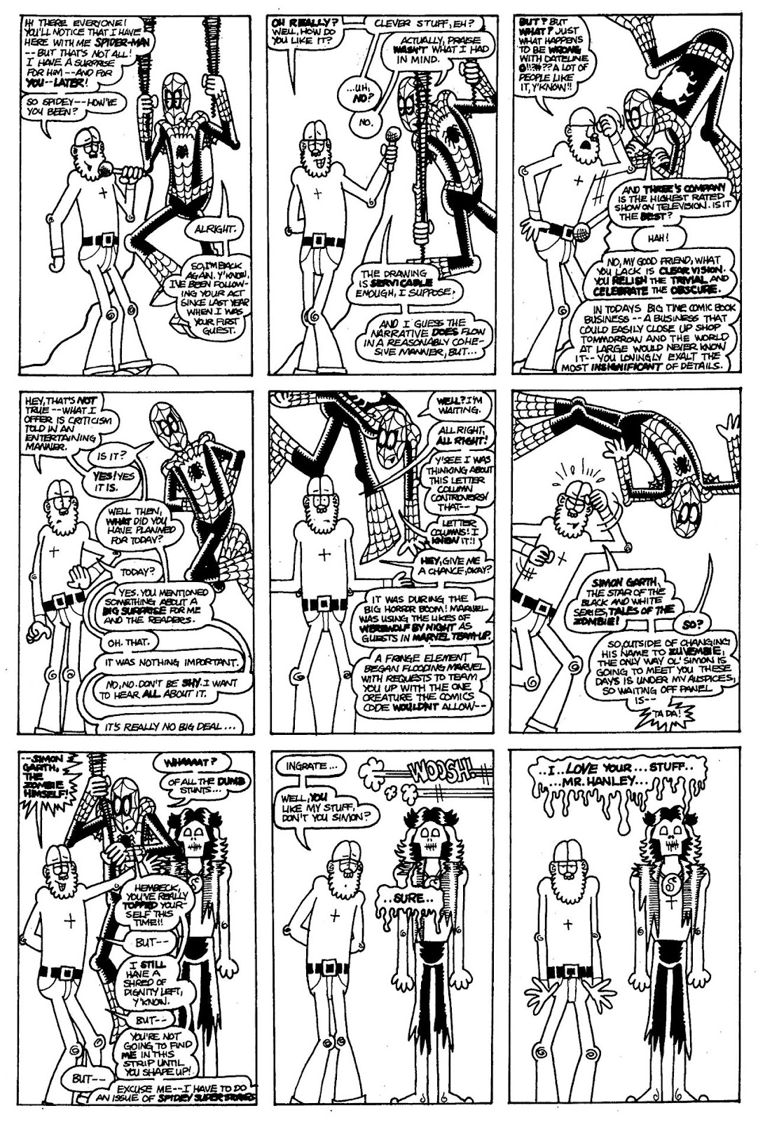 Read online The Nearly Complete Essential Hembeck Archives Omnibus comic -  Issue # TPB (Part 1) - 80