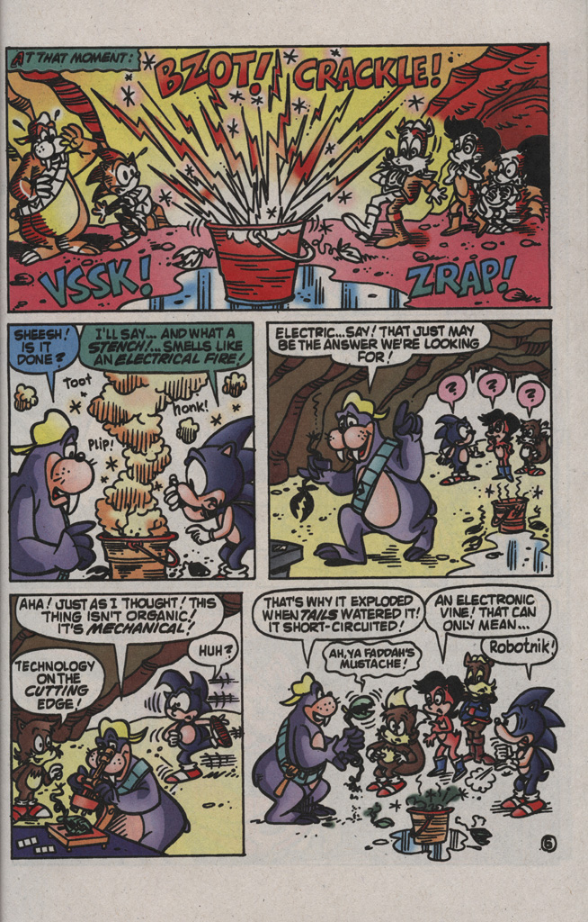 Read online Sonic the Hedgehog Free Comic Book Day Edition comic -  Issue # Special 2 - 17