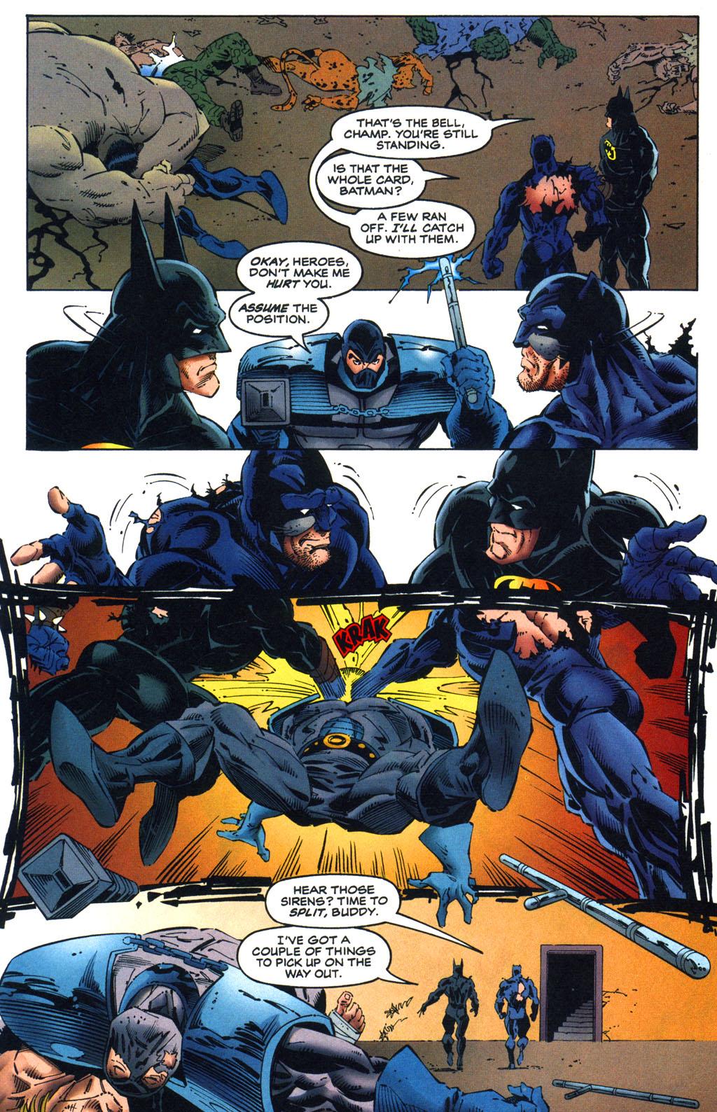 Read online Batman/Wildcat comic -  Issue #3 - 20