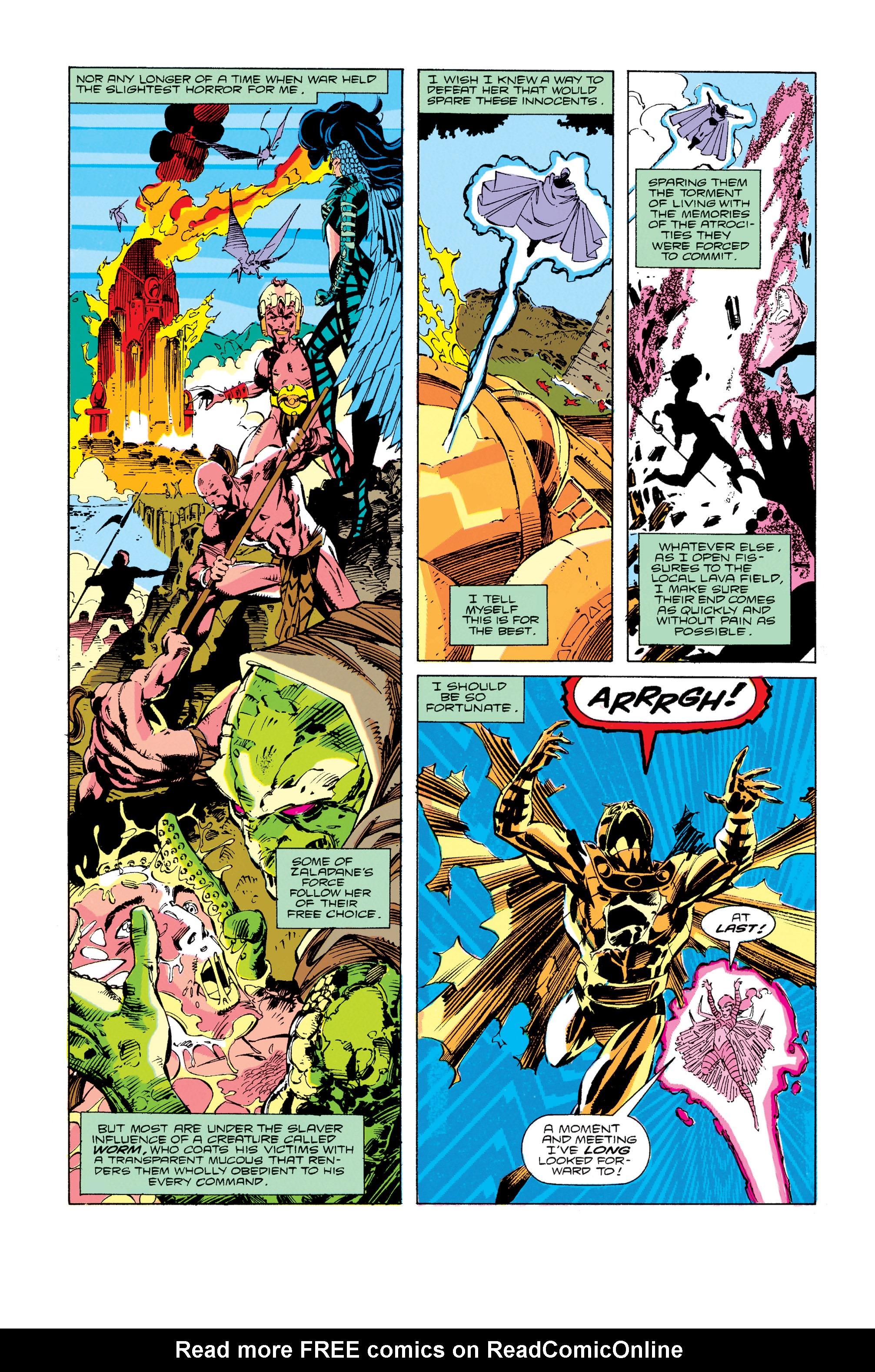 Read online Uncanny X-Men (1963) comic -  Issue #274 - 12