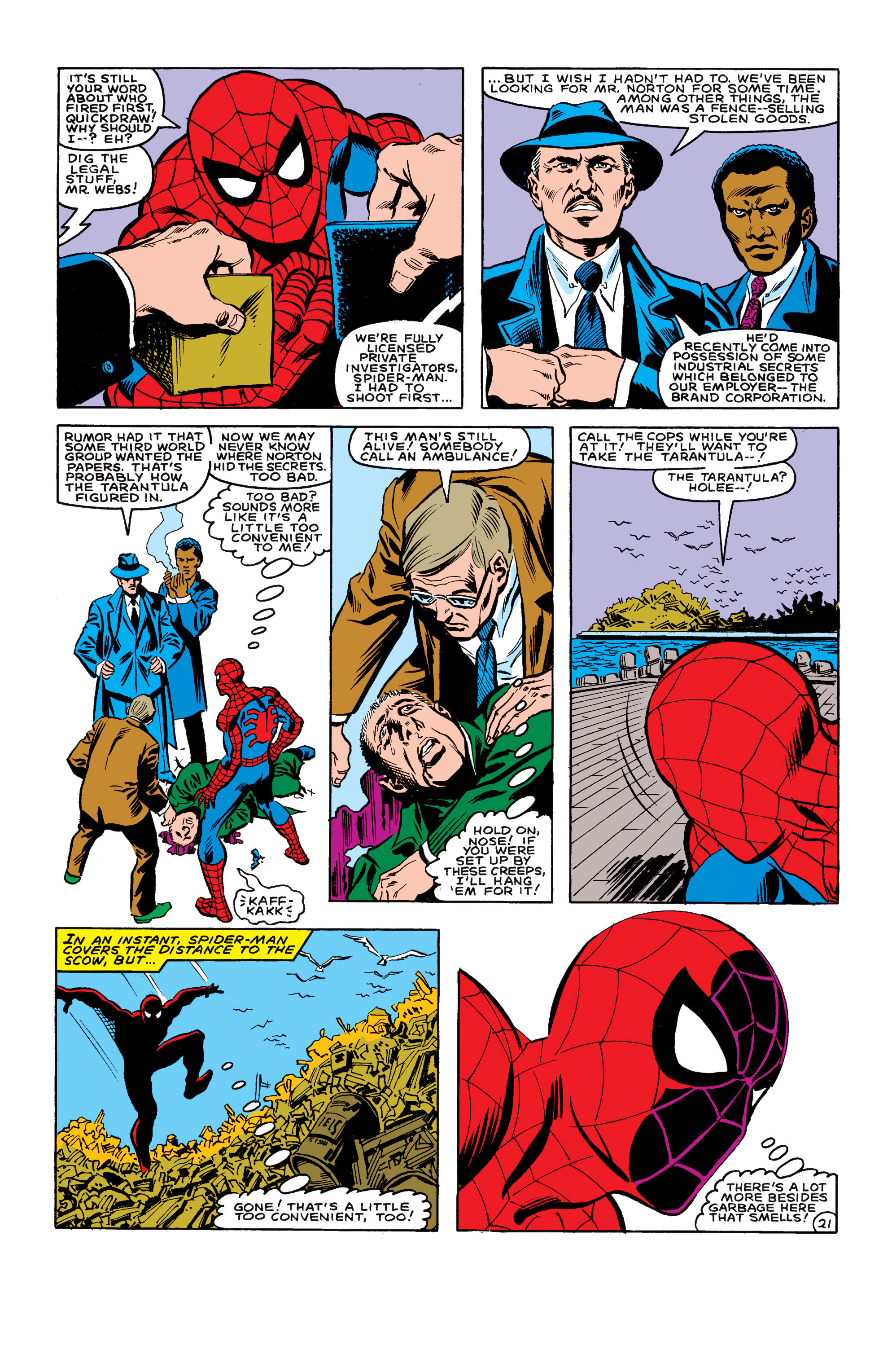 The Amazing Spider-Man (1963) 233 Page 21