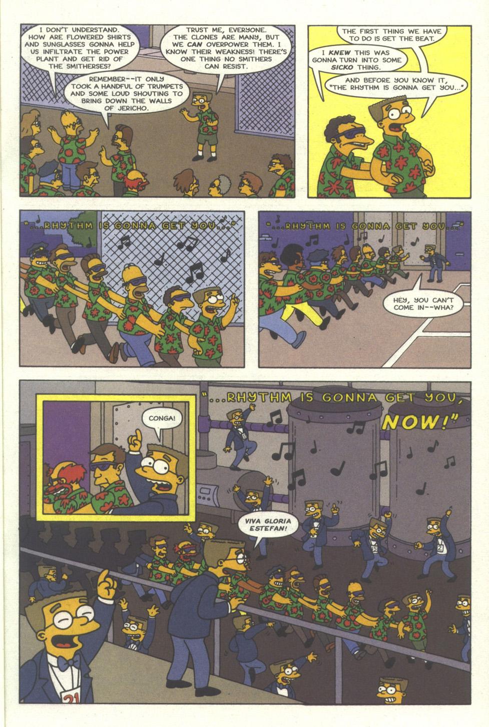 Read online Simpsons Comics comic -  Issue #30 - 16