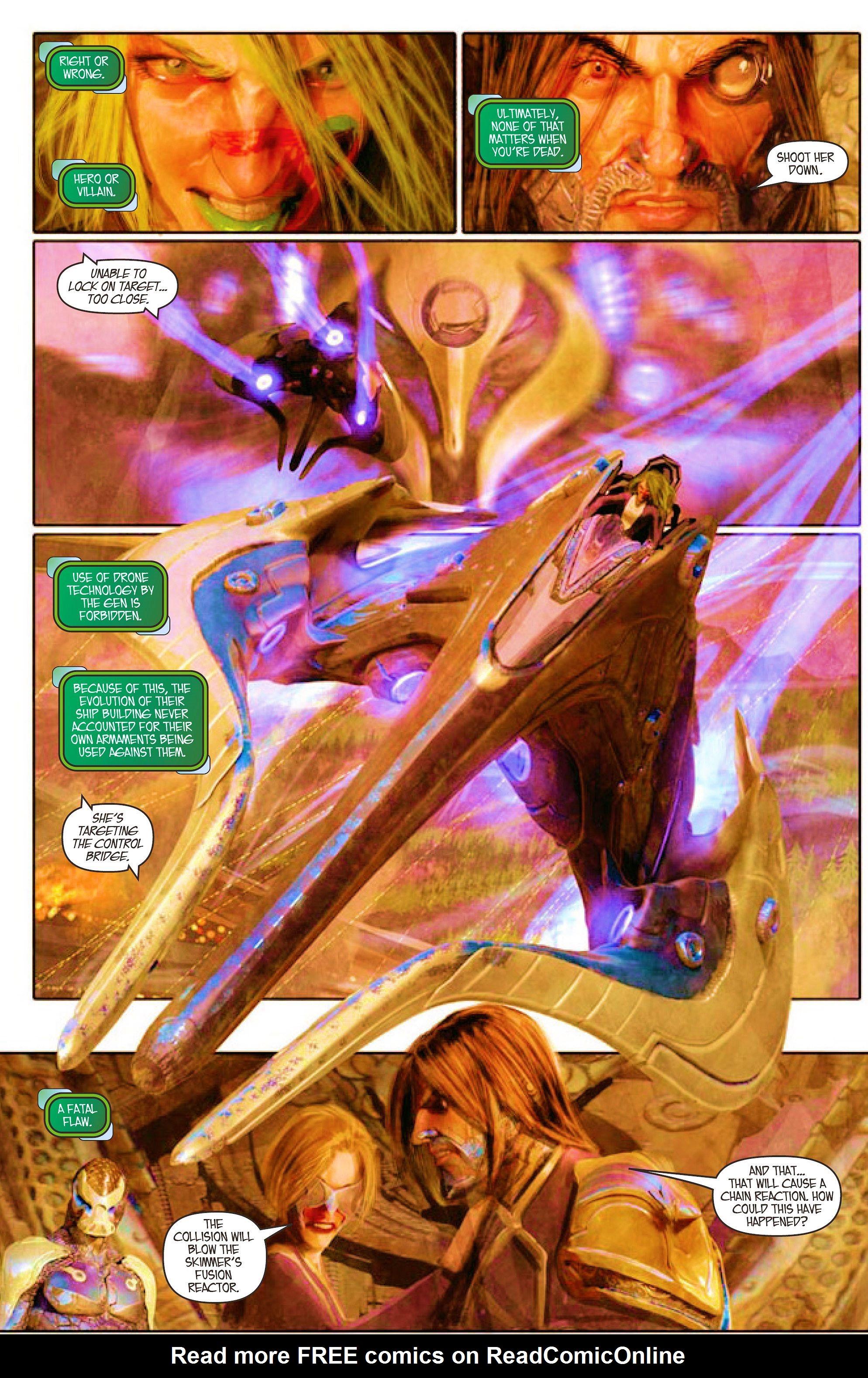 Read online Aphrodite IX (2013) comic -  Issue #5 - 12