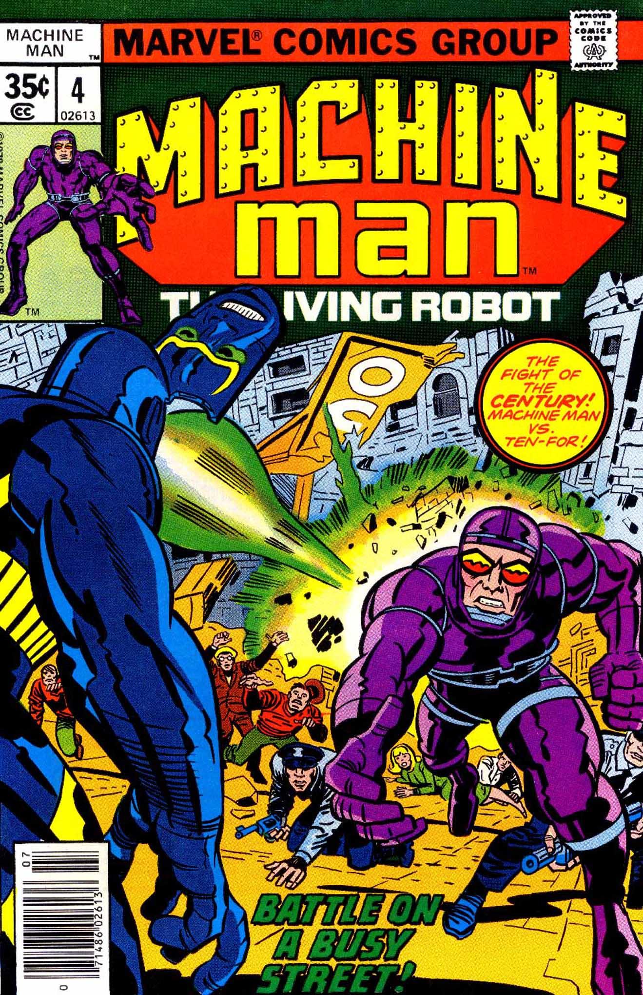 Machine Man (1978) issue 4 - Page 1