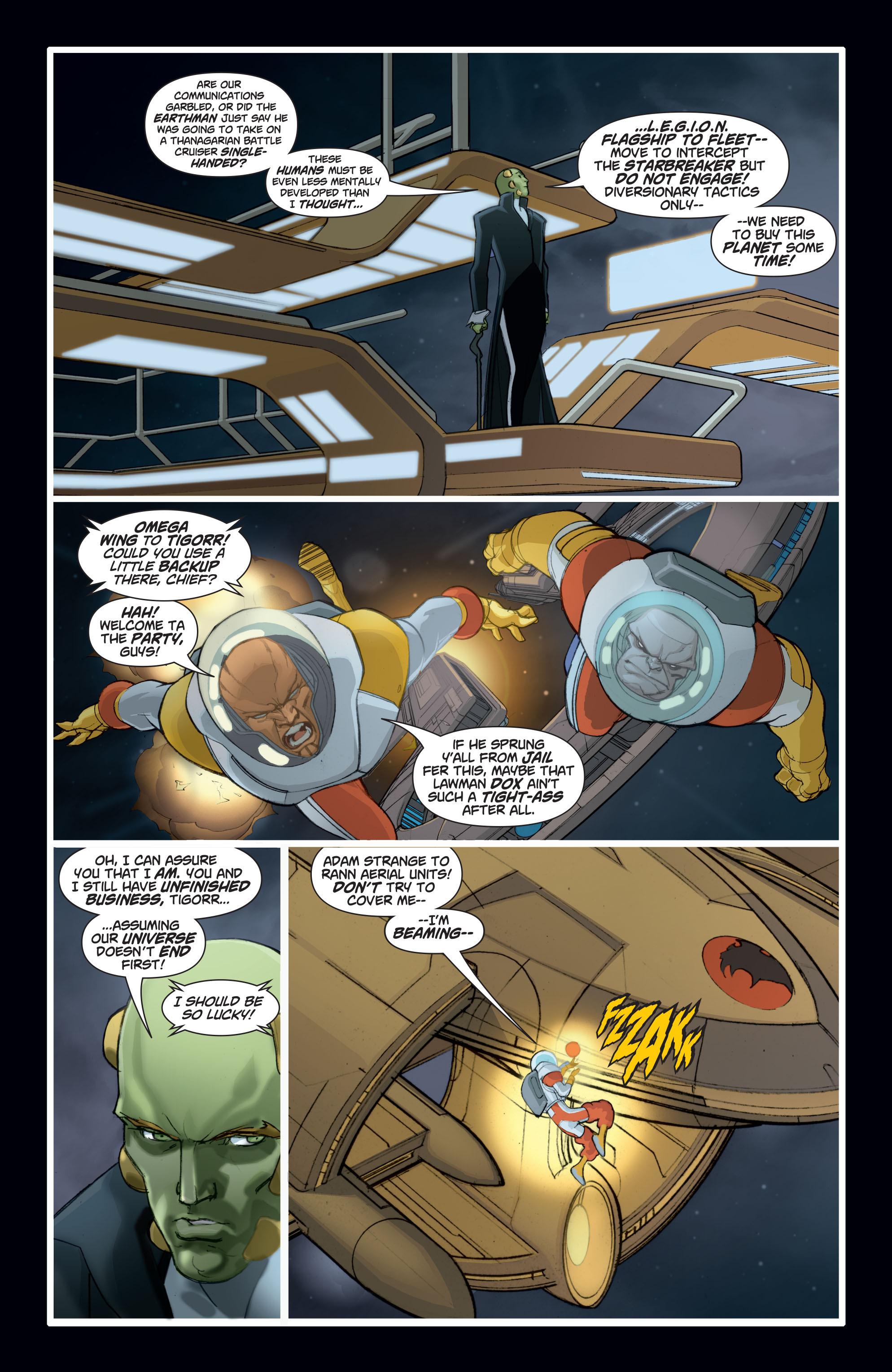 Read online Adam Strange (2004) comic -  Issue #8 - 7