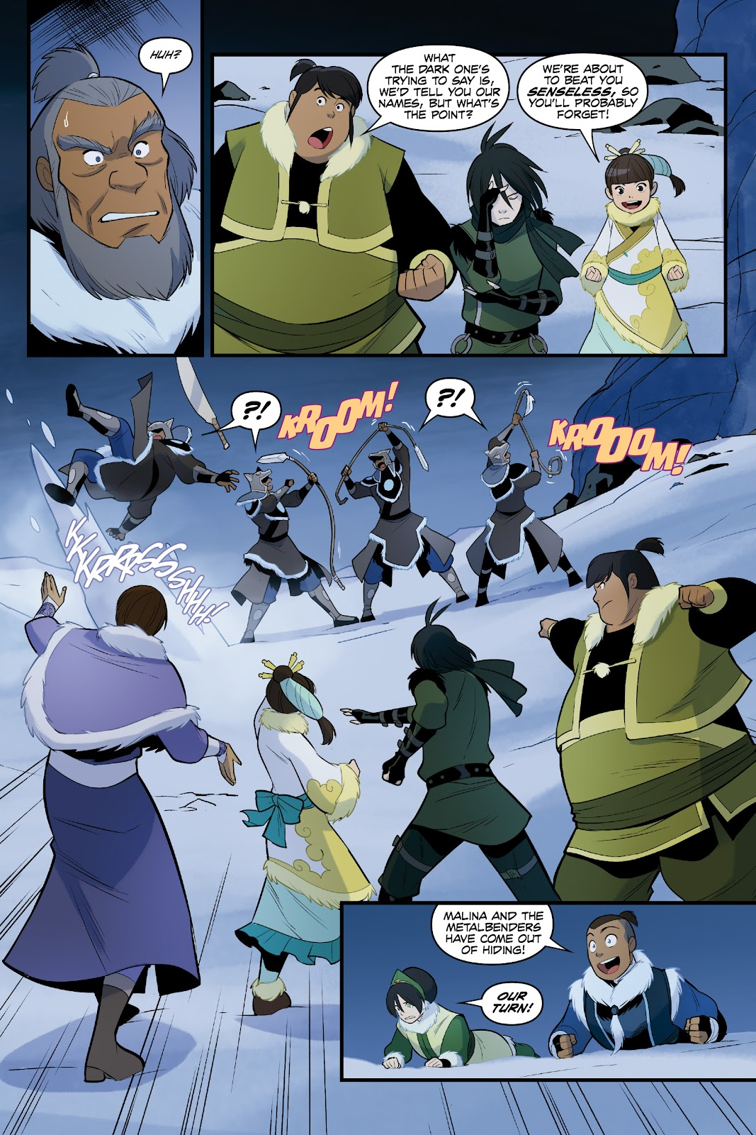 Nickelodeon Avatar: The Last Airbender - North and South issue 3 - Page 55