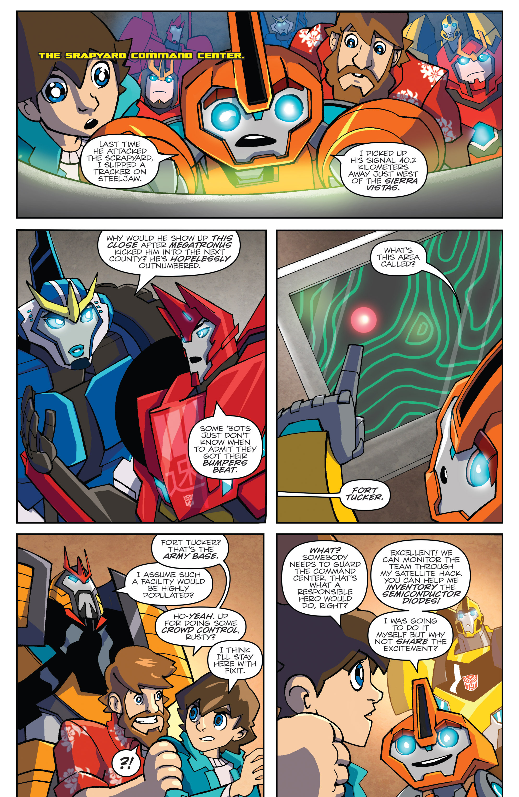 Read online Transformers: Robots In Disguise (2015) comic -  Issue #5 - 15