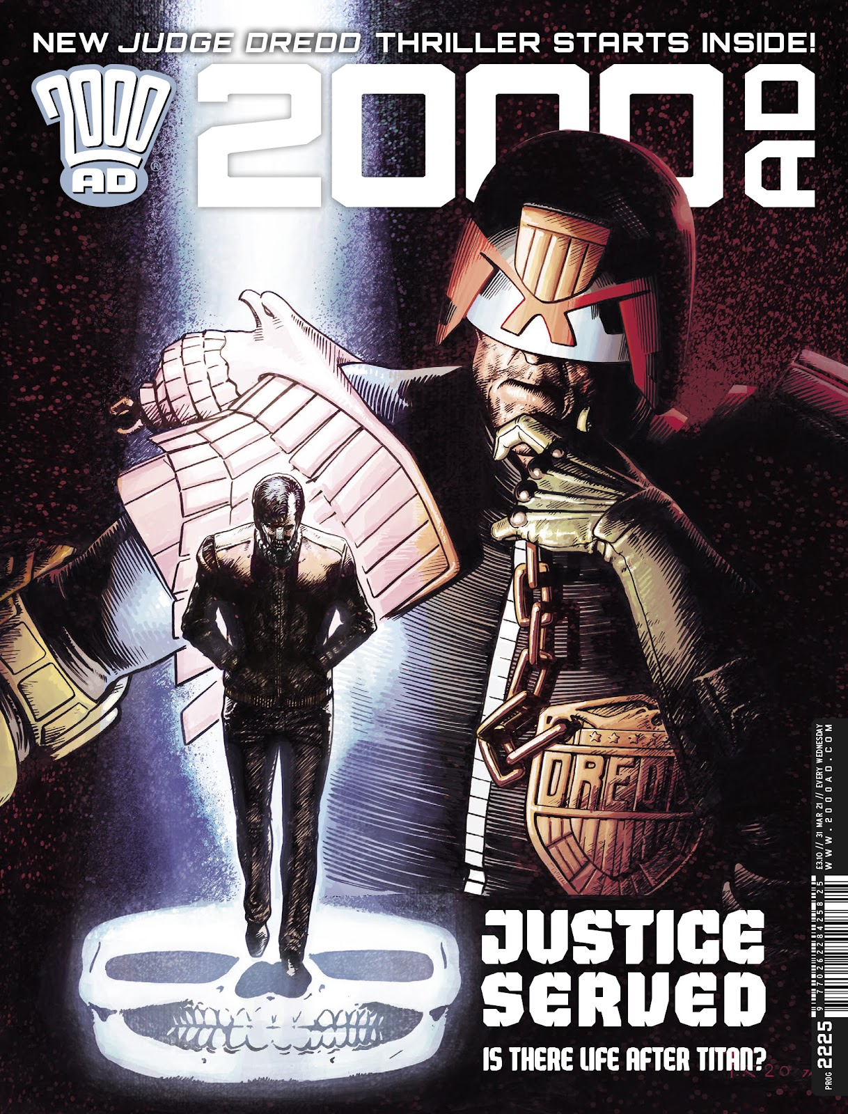 2000 AD issue 2225 - Page 1