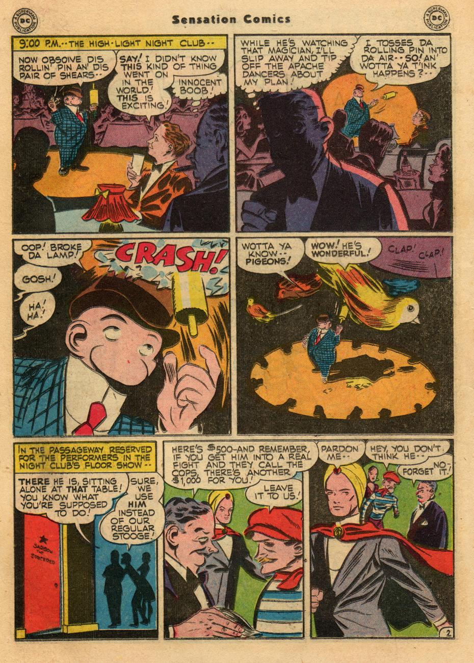 Read online Sensation (Mystery) Comics comic -  Issue #61 - 26