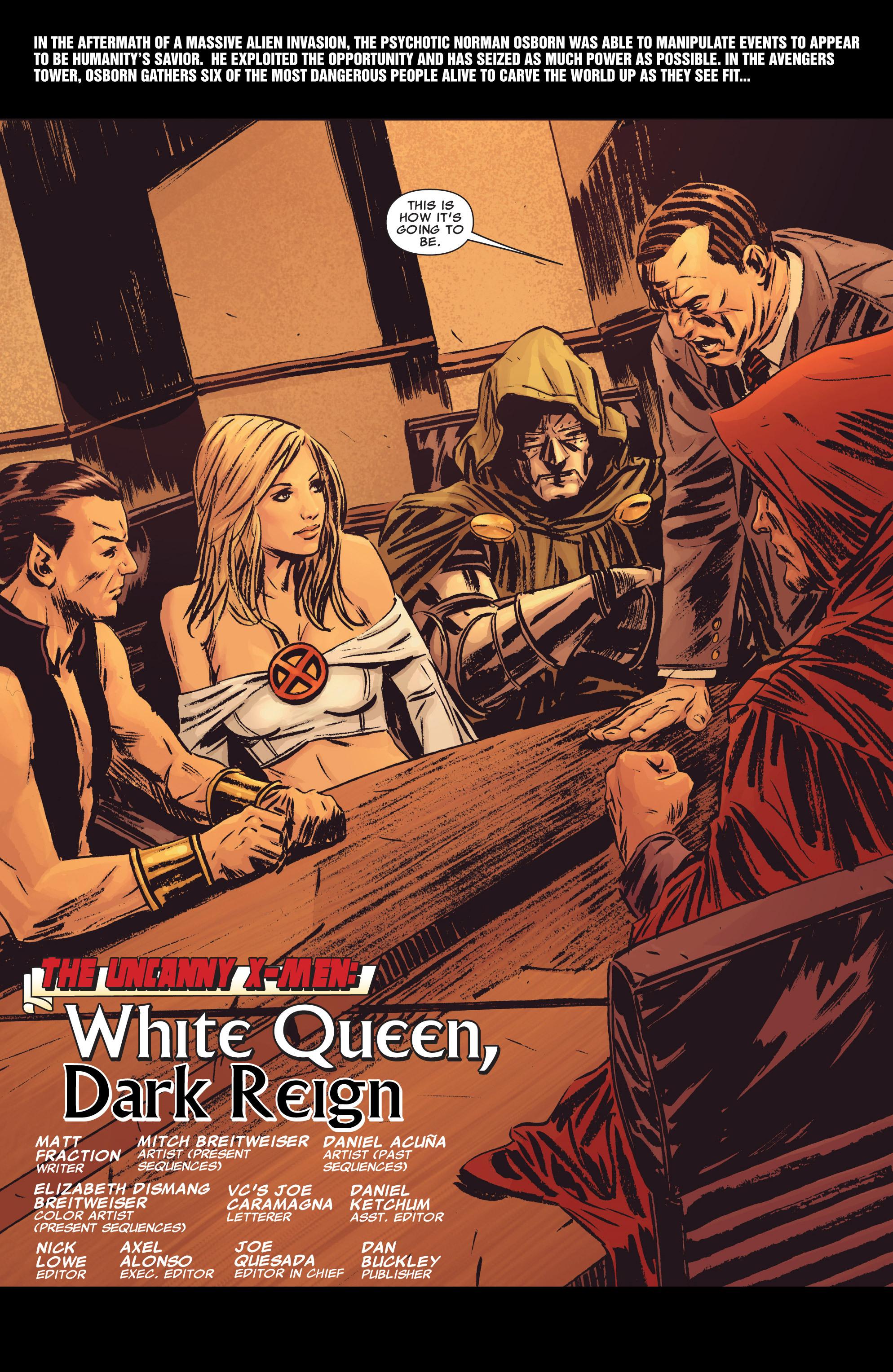 Read online Uncanny X-Men (1963) comic -  Issue # _Annual 2 (2009) - 12