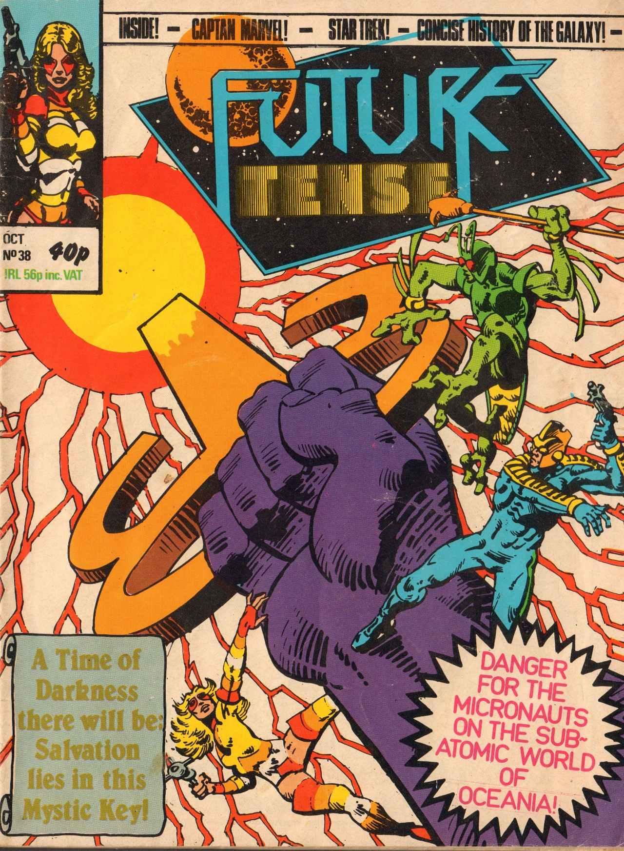 Read online Future Tense comic -  Issue #38 - 1