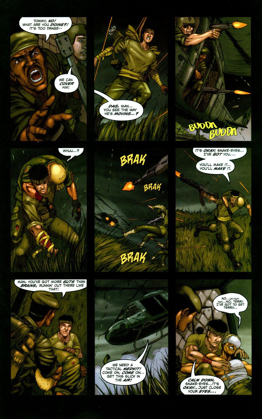 Read online Snake Eyes: Declassified comic -  Issue #1 - 20