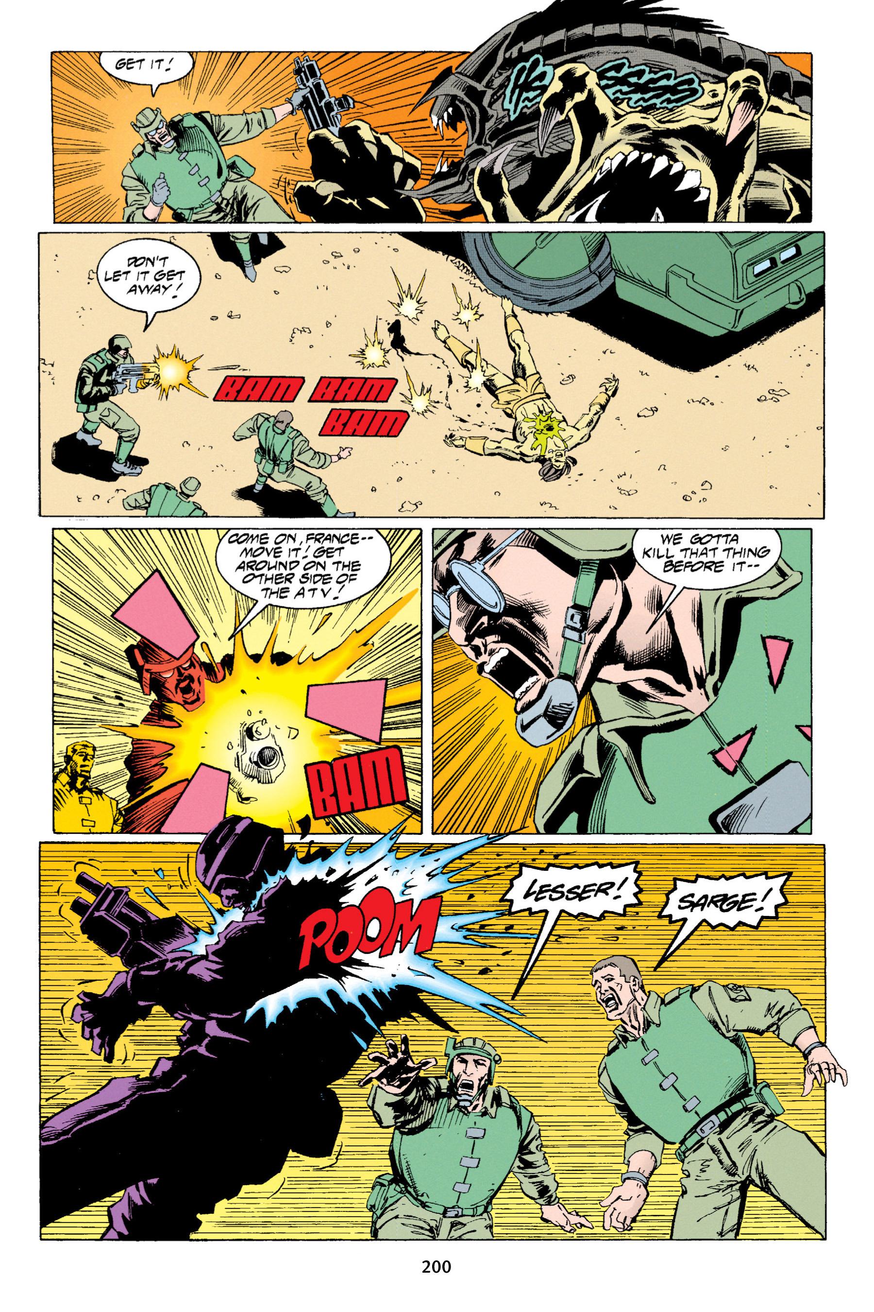 Read online Aliens vs. Predator Omnibus comic -  Issue # _TPB 1 Part 2 - 96