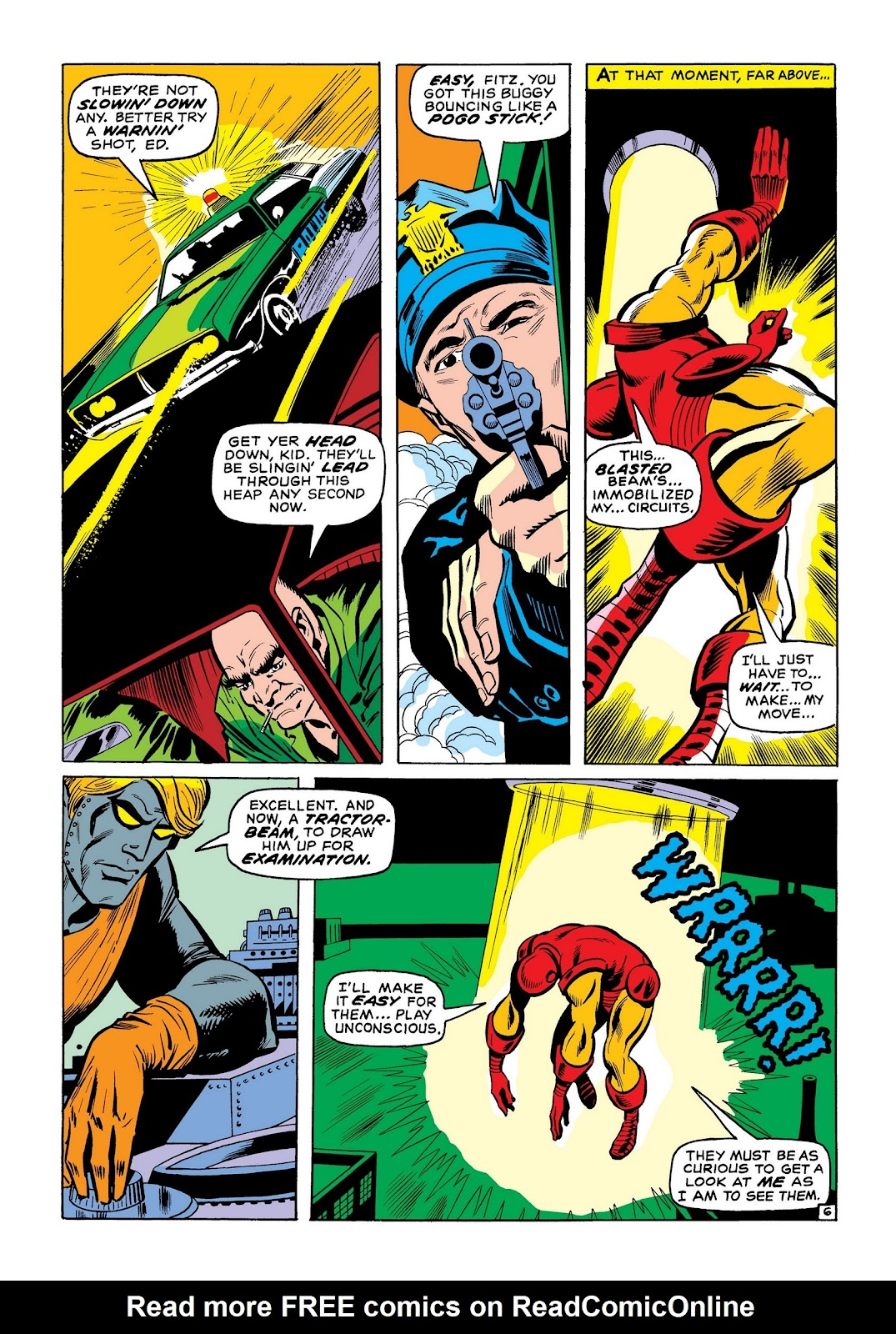 Read online Marvel Masterworks: The Invincible Iron Man comic -  Issue # TPB 7 (Part 2) - 35