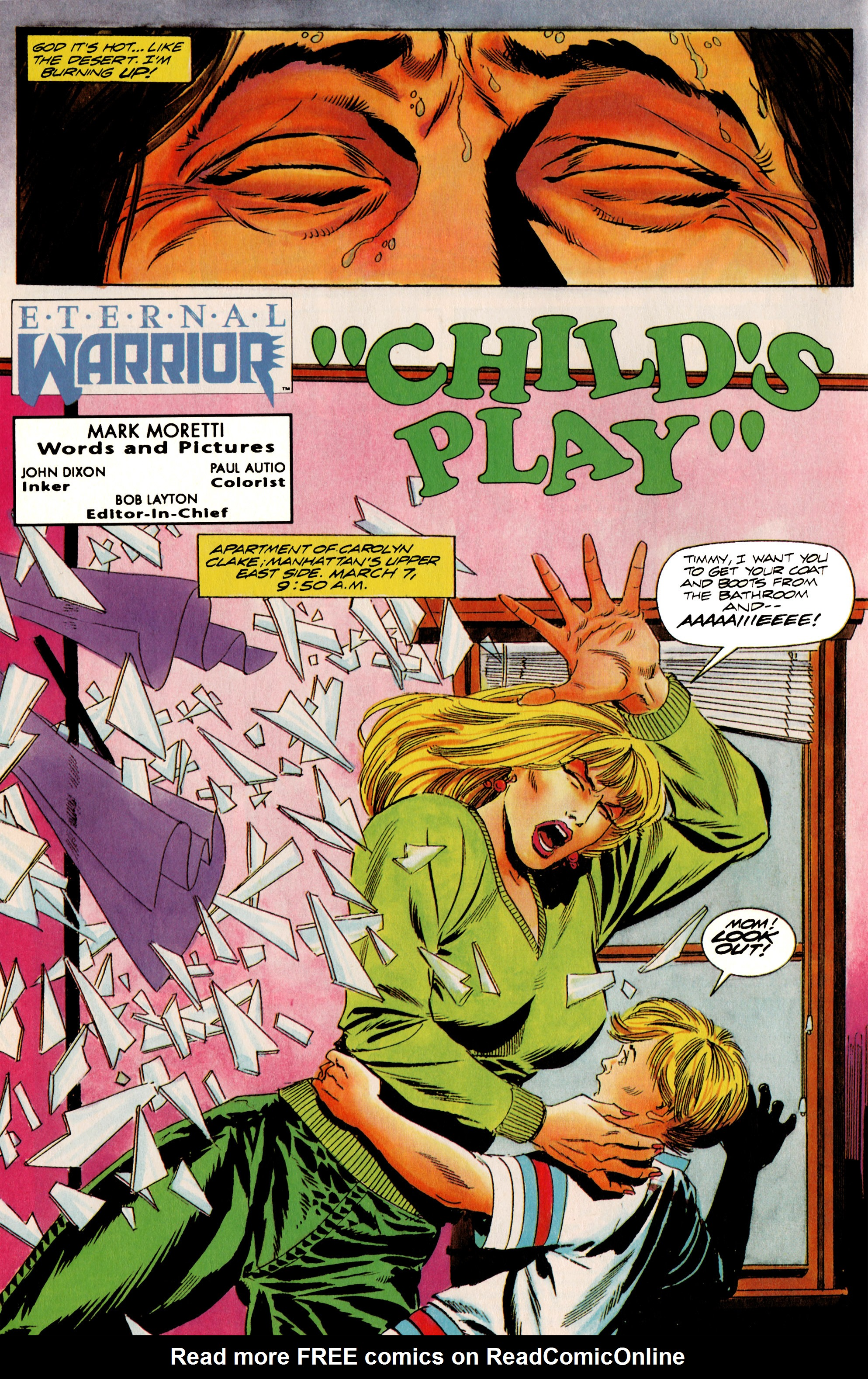 Read online Eternal Warrior (1992) comic -  Issue #10 - 5