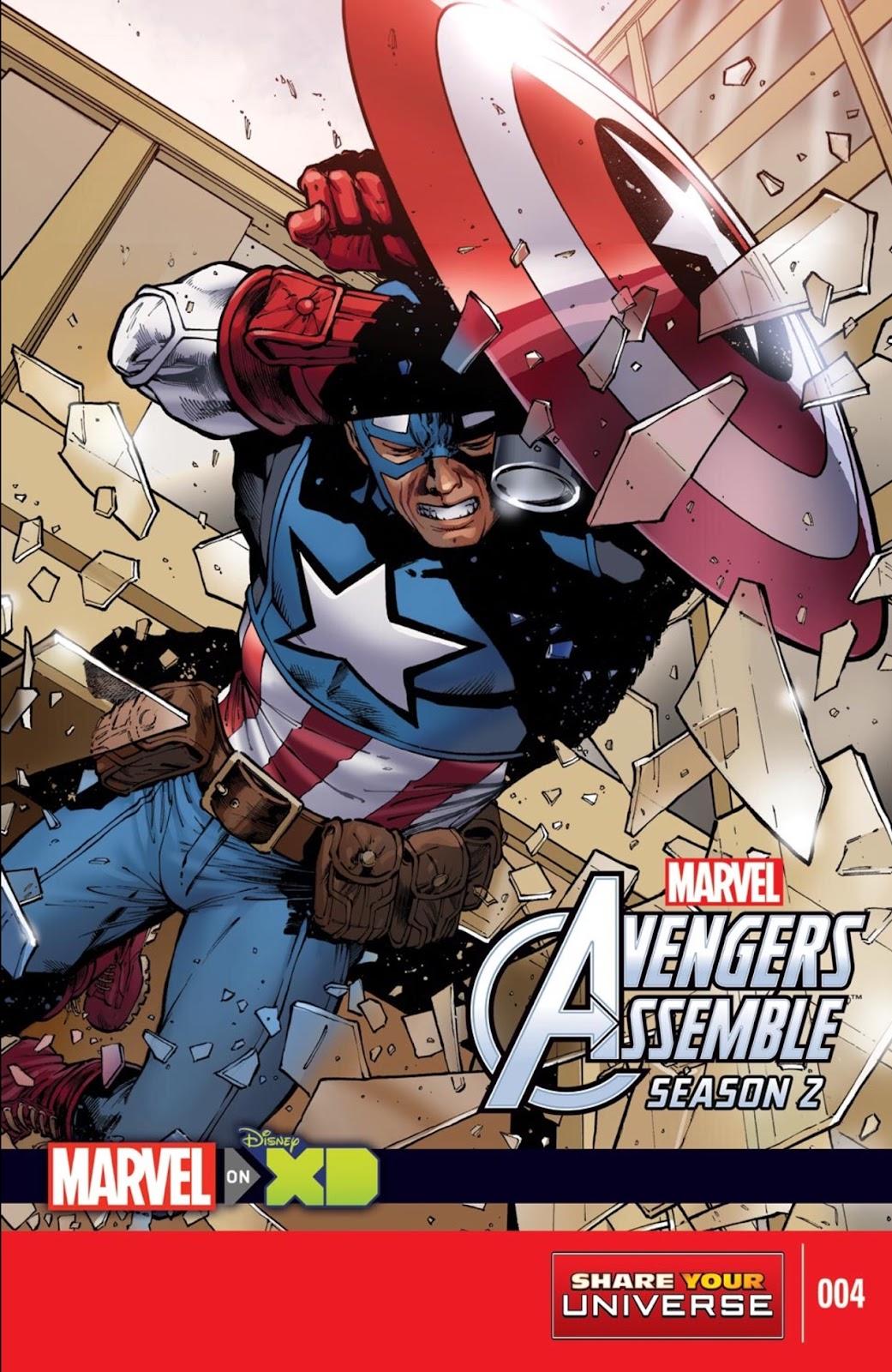 Read online Marvel Universe Avengers Assemble Season 2 comic -  Issue #4 - 1
