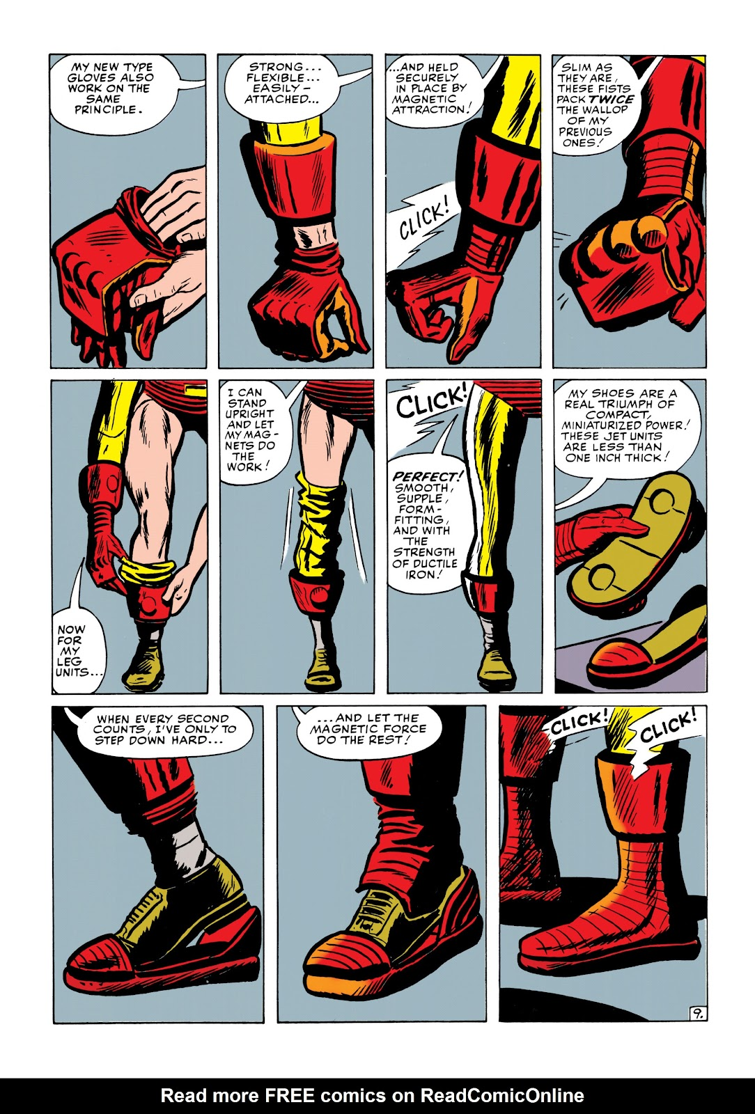 Read online Marvel Masterworks: The Invincible Iron Man comic -  Issue # TPB 1 (Part 2) - 48