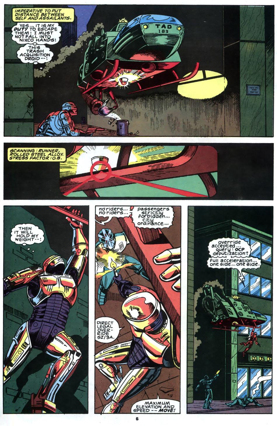 Read online Robocop (1990) comic -  Issue #2 - 5