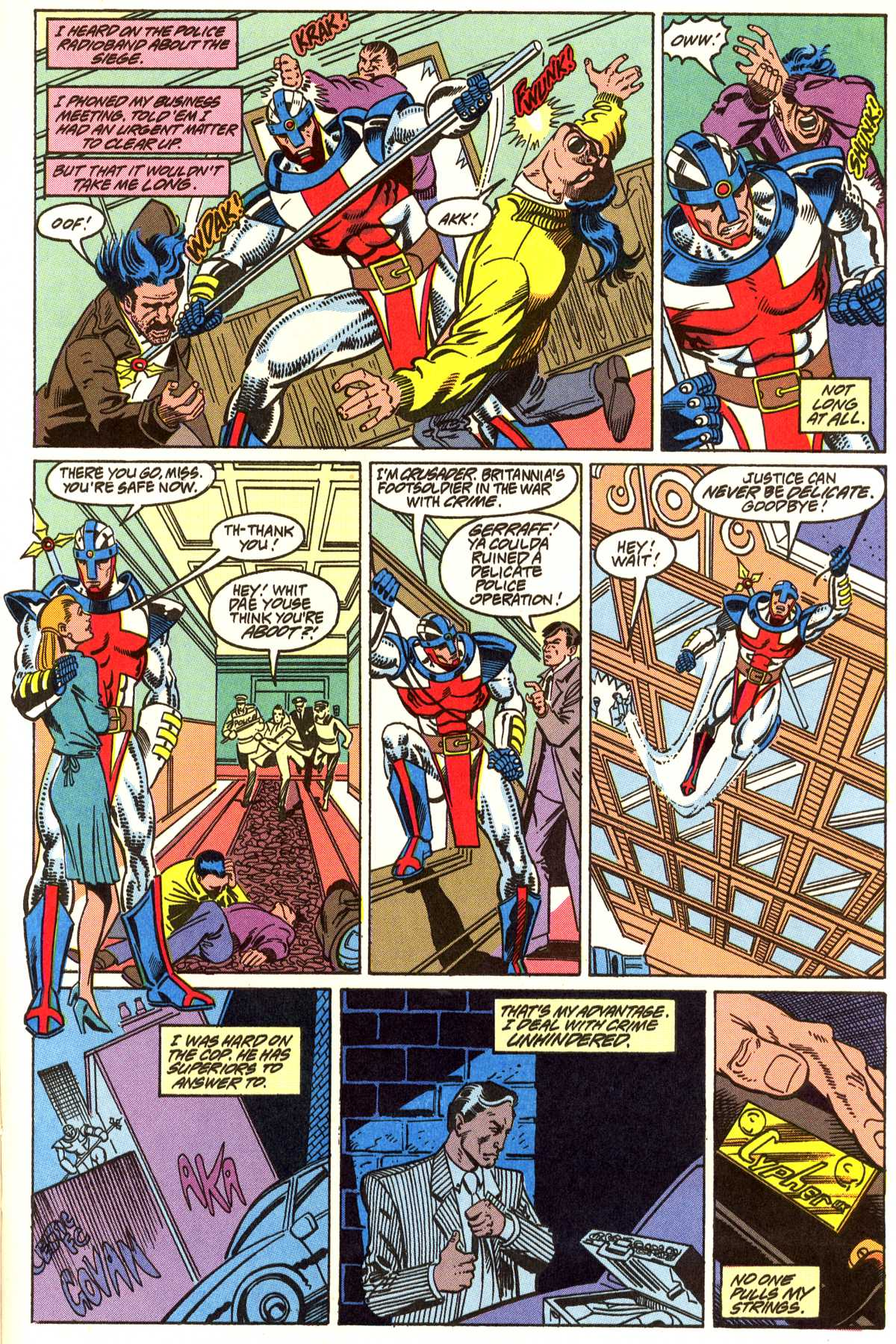 Read online Peter Cannon--Thunderbolt (1992) comic -  Issue #5 - 12