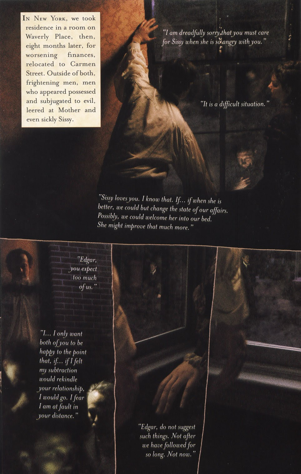 Read online In the Shadow of Edgar Allan Poe comic -  Issue # TPB - 68