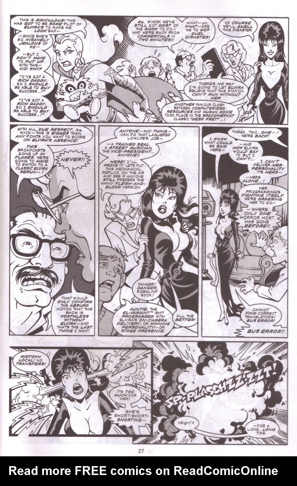 Read online Elvira, Mistress of the Dark comic -  Issue #127 - 24