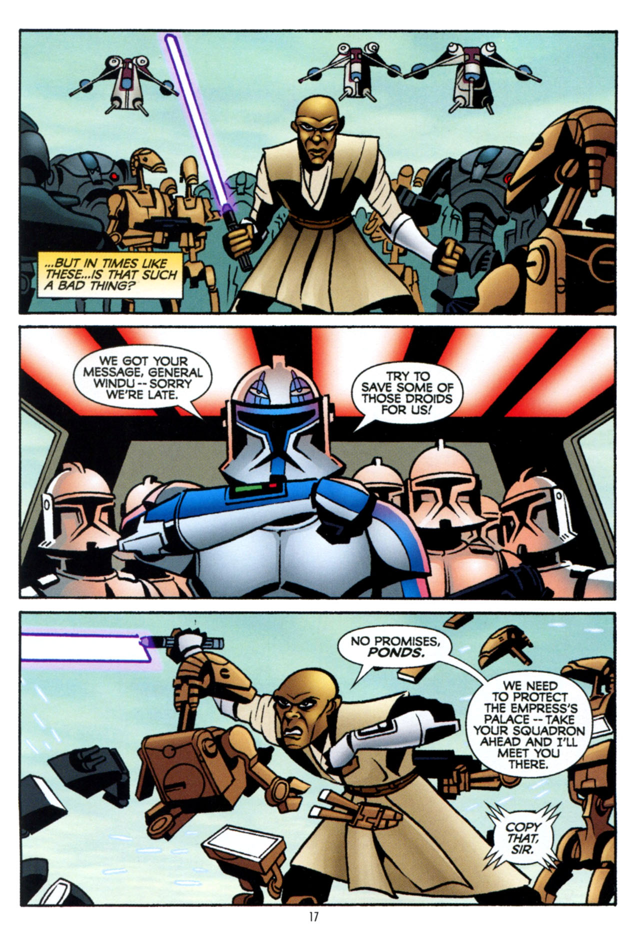 Read online Star Wars: The Clone Wars - The Colossus of Destiny comic -  Issue # Full - 18