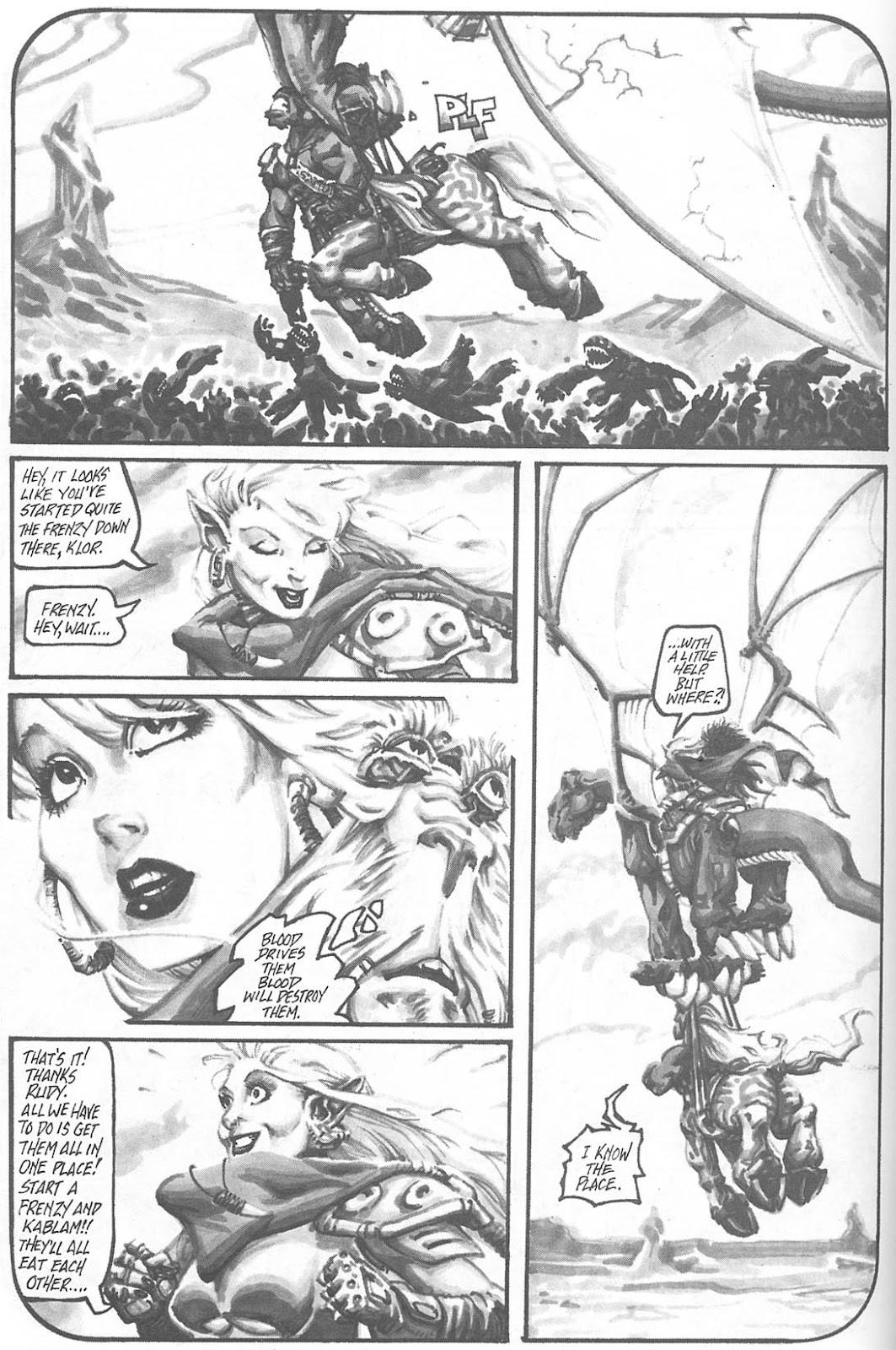Read online Animal Mystic comic -  Issue #4 - 44