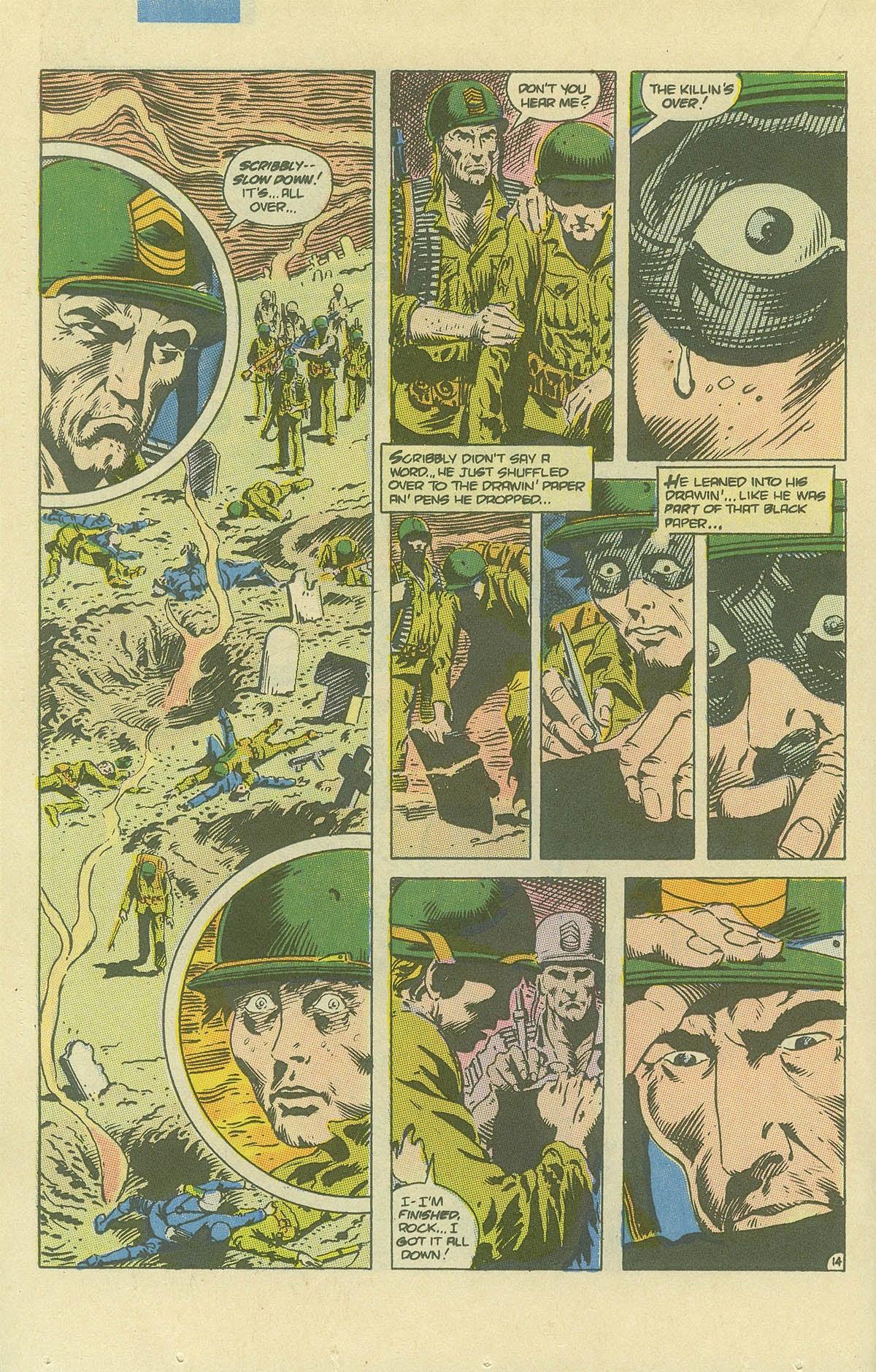 Read online Sgt. Rock comic -  Issue #408 - 19