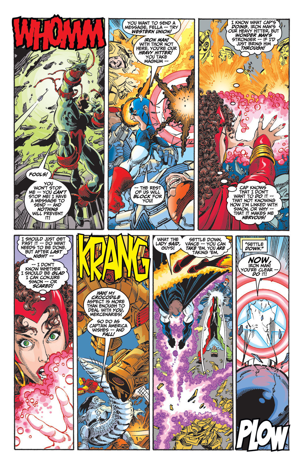 Read online Avengers (1998) comic -  Issue #9 - 14