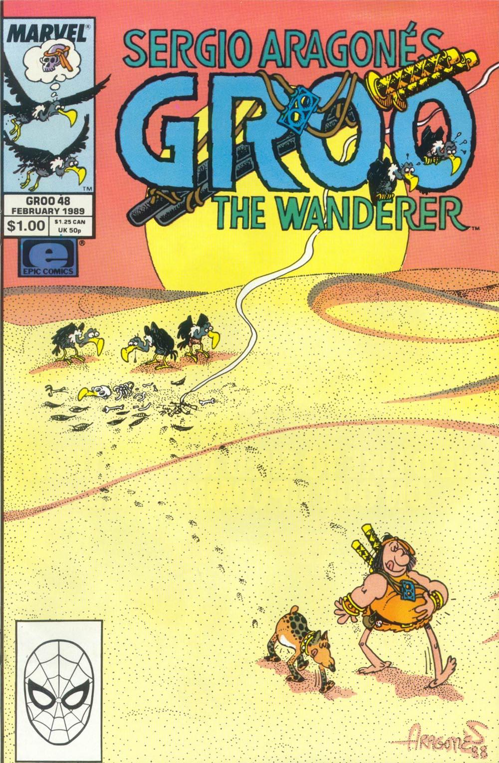 Read online Sergio Aragonés Groo the Wanderer comic -  Issue #48 - 1