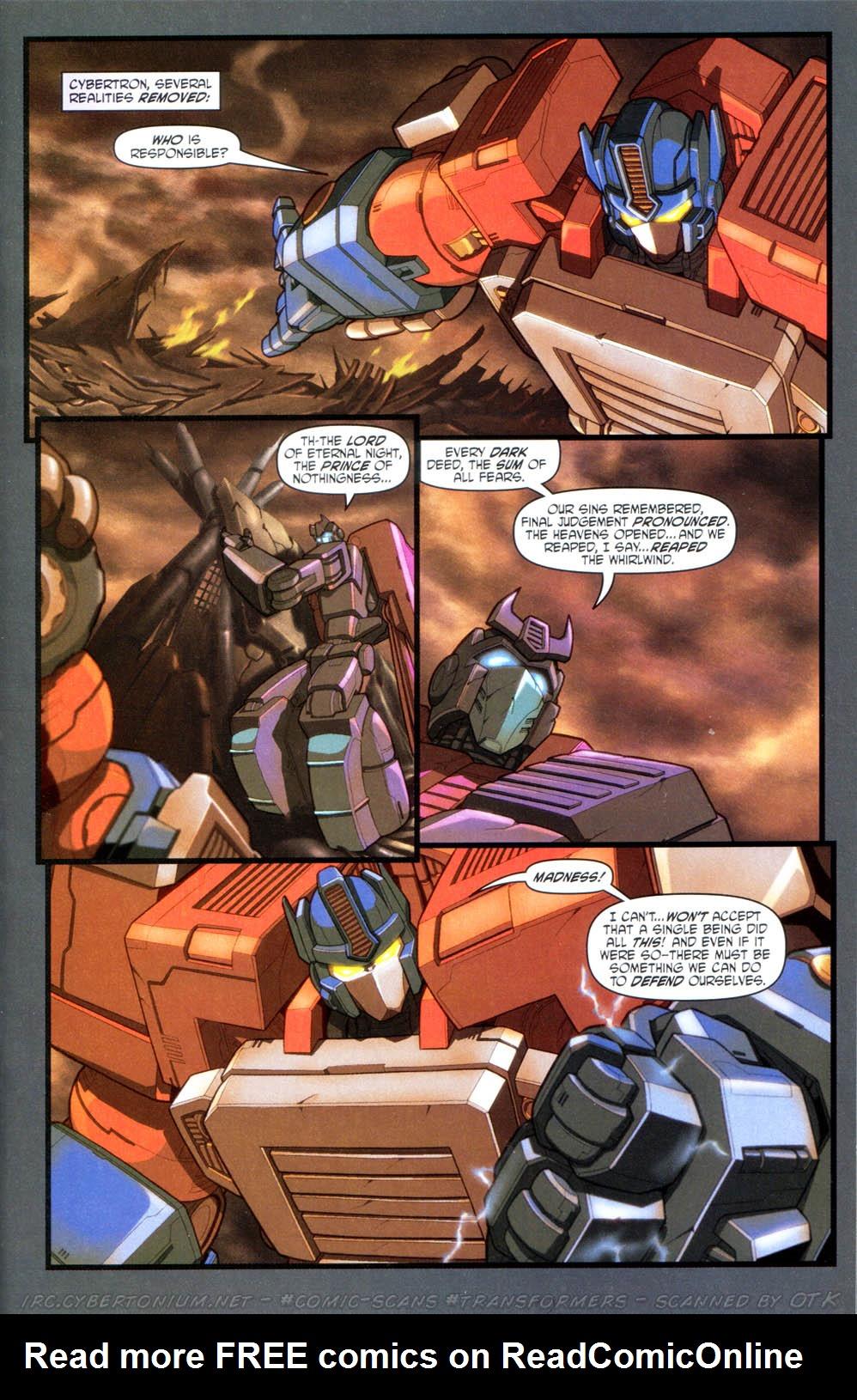 Read online Transformers Armada comic -  Issue #15 - 8