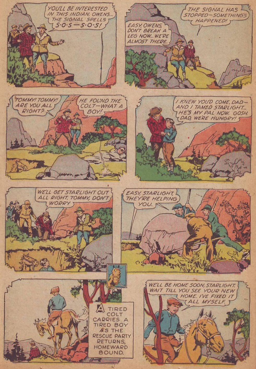 Read online Animal Comics comic -  Issue #8 - 32