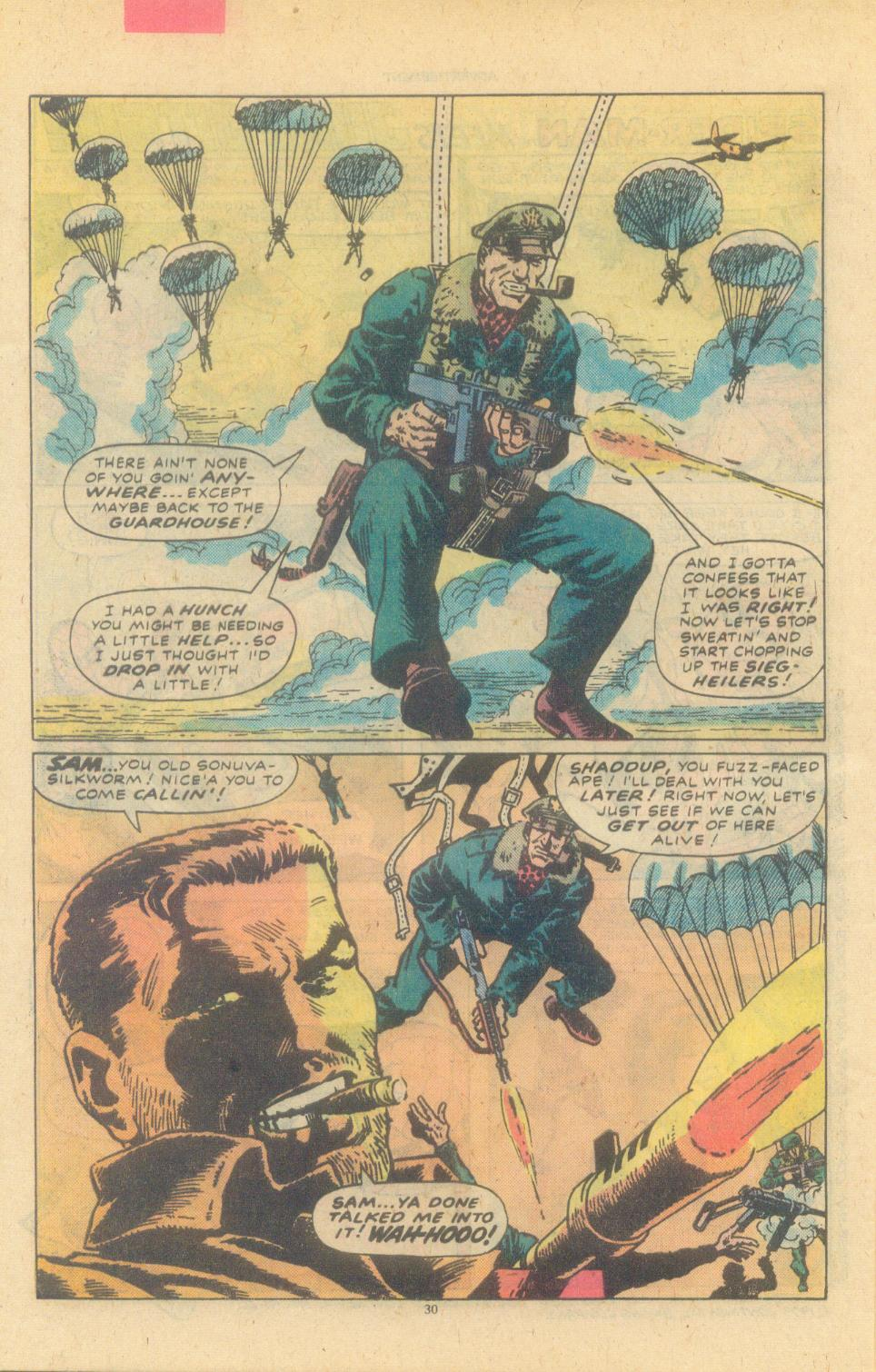 Read online Sgt. Fury comic -  Issue #155 - 32