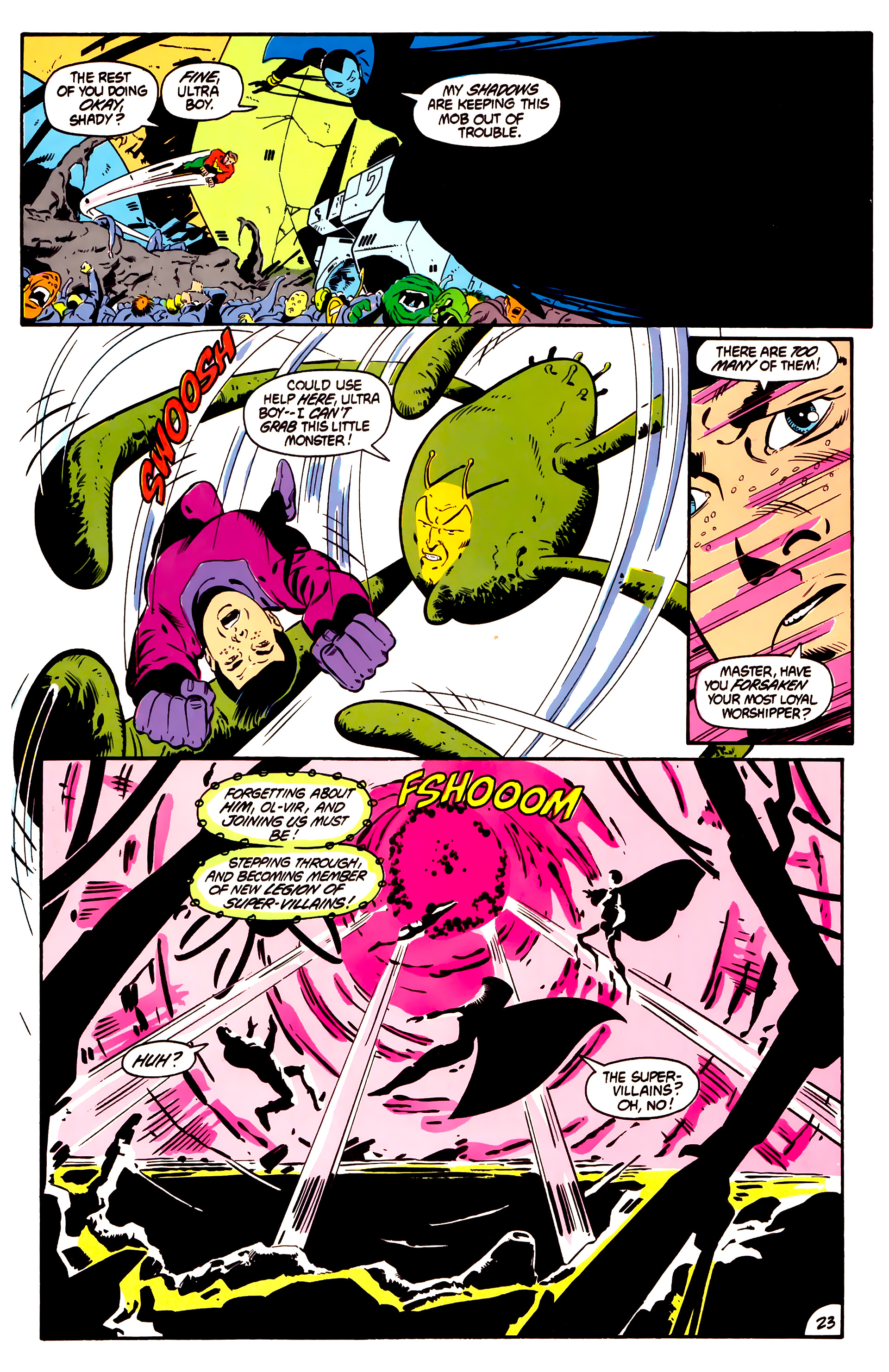 Legion of Super-Heroes (1984) 1 Page 24