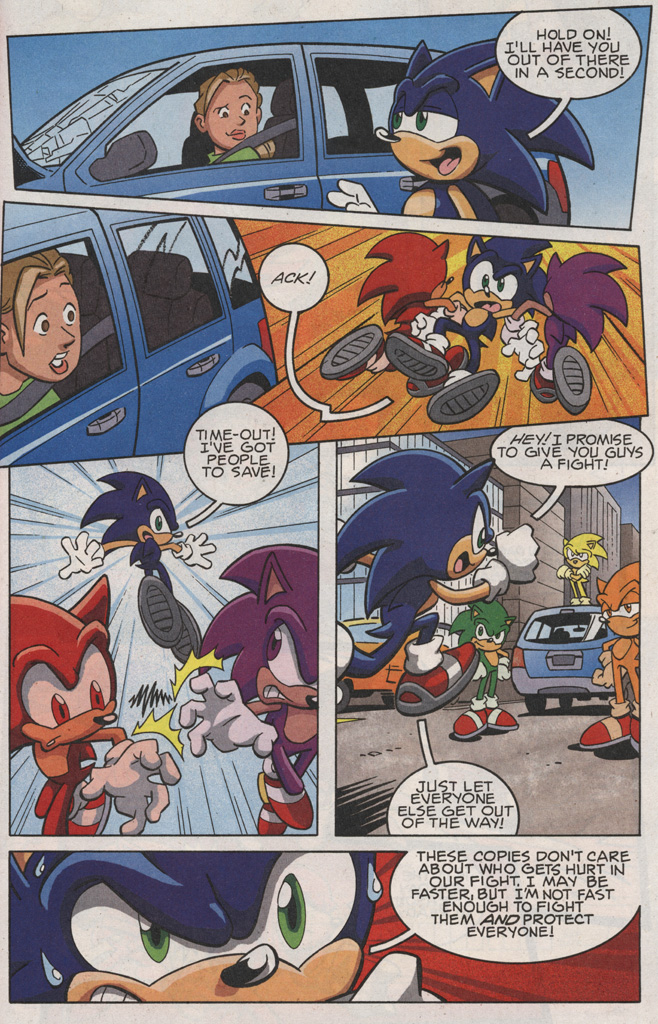 Read online Sonic X comic -  Issue #25 - 15