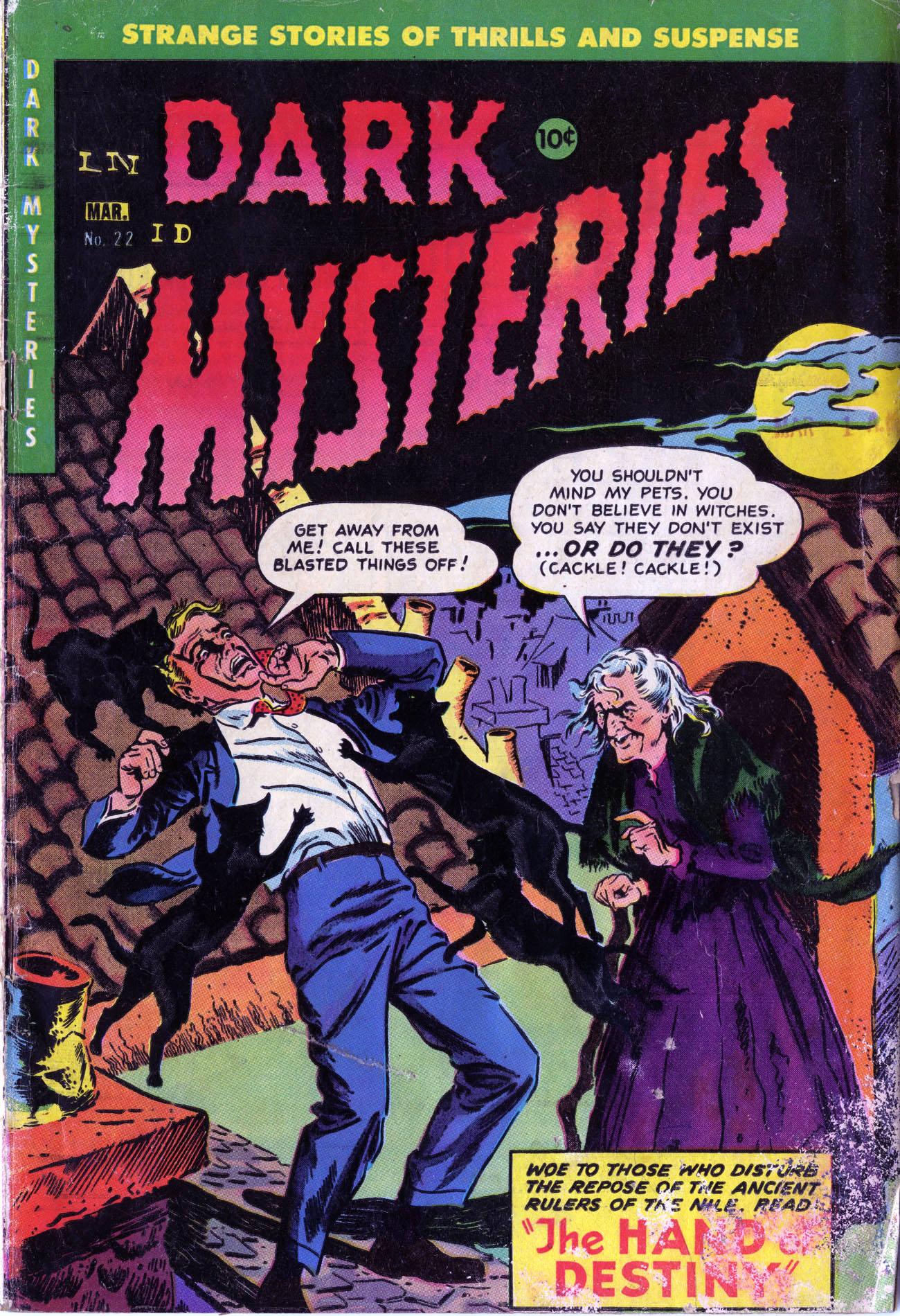 Dark Mysteries 22 Page 1