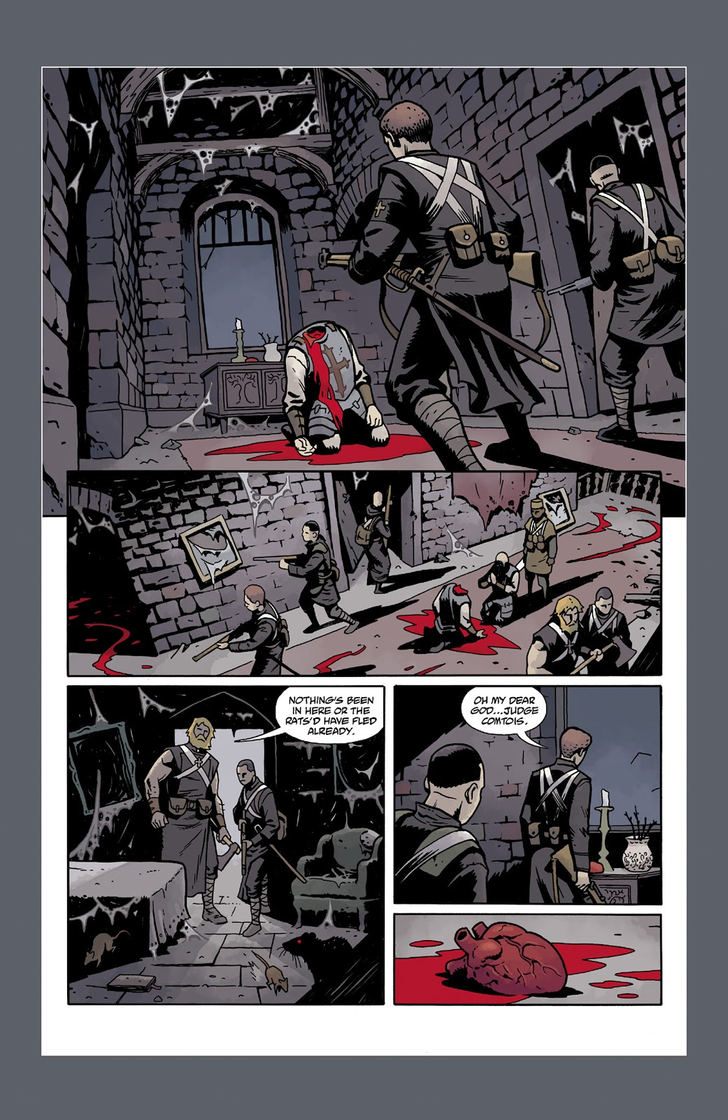 Read online Dark Ages comic -  Issue #2 - 28
