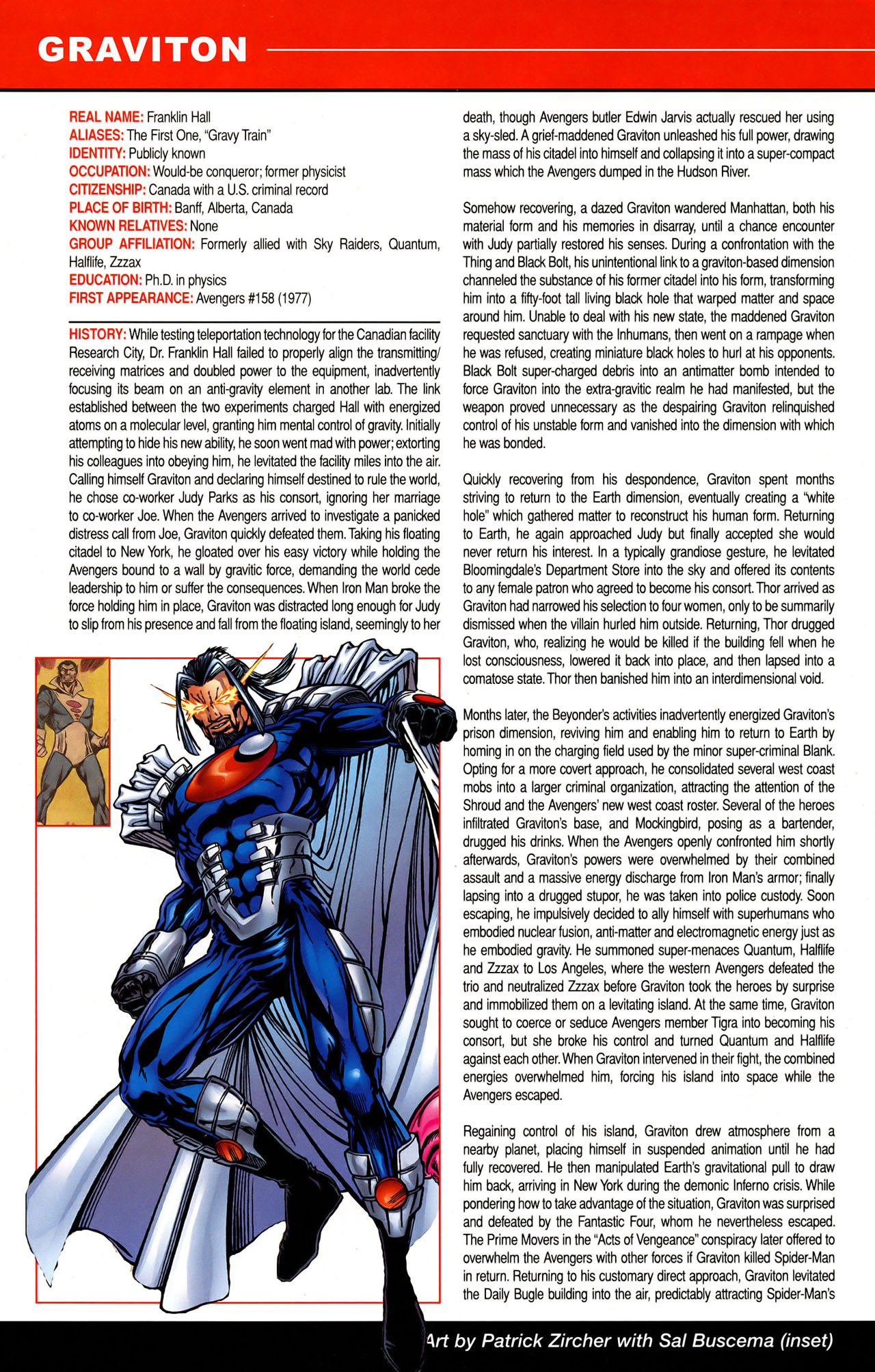 Read online All-New Official Handbook of the Marvel Universe A to Z: Update comic -  Issue #1 - 15