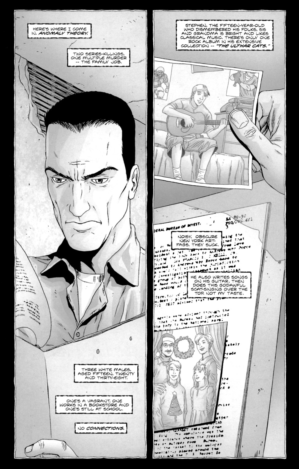 Read online Alan Moore's The Courtyard comic -  Issue #1 - 11