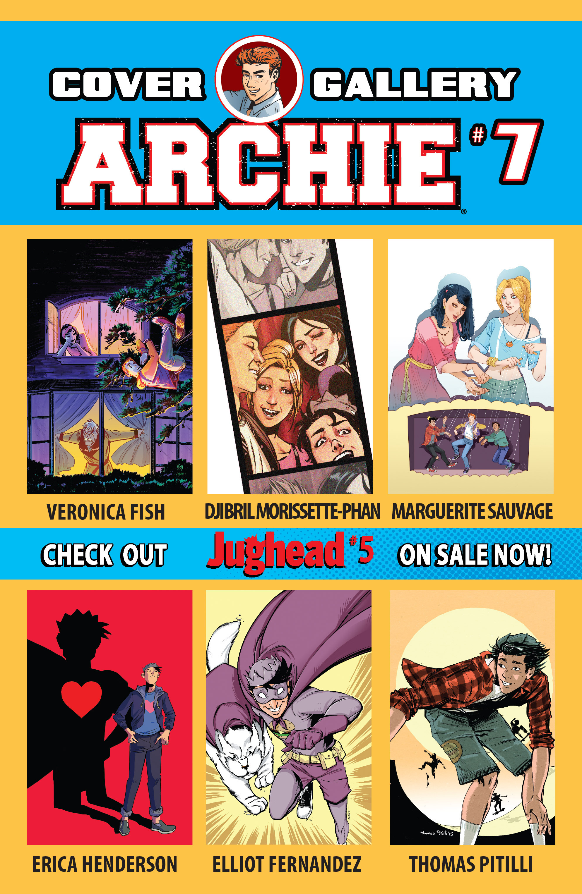 Read online Archie (2015) comic -  Issue #7 - 32
