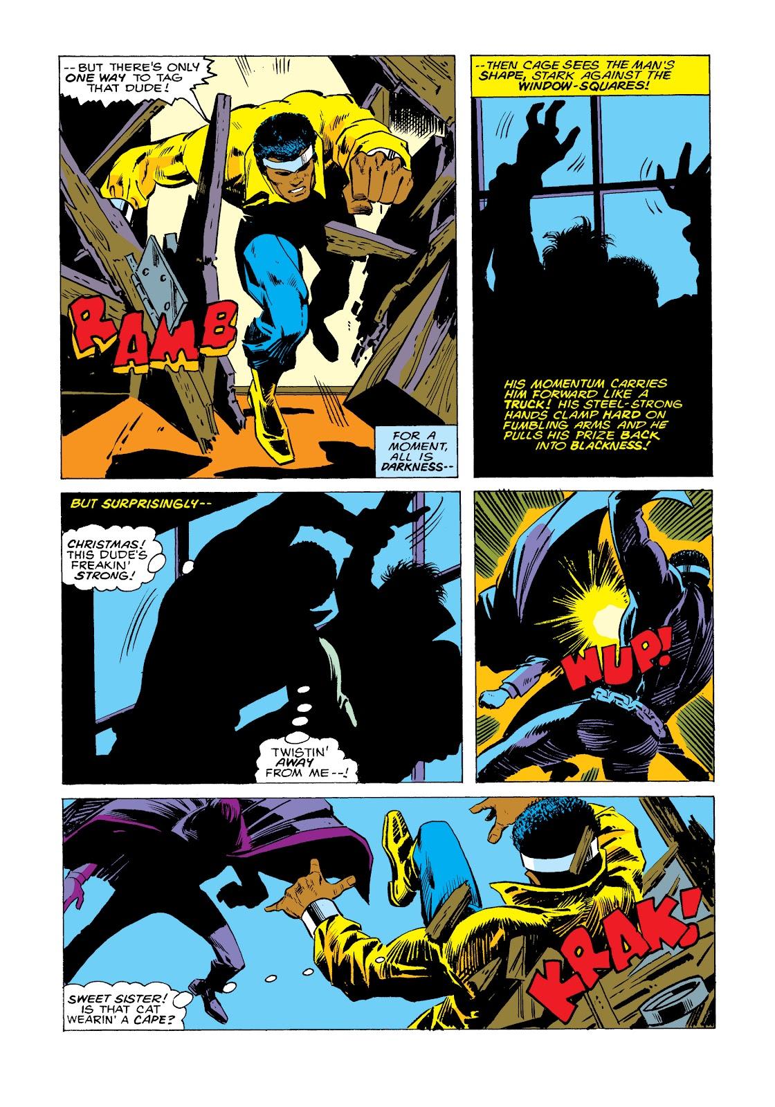 Read online Marvel Masterworks: Luke Cage, Power Man comic -  Issue # TPB 2 (Part 2) - 84