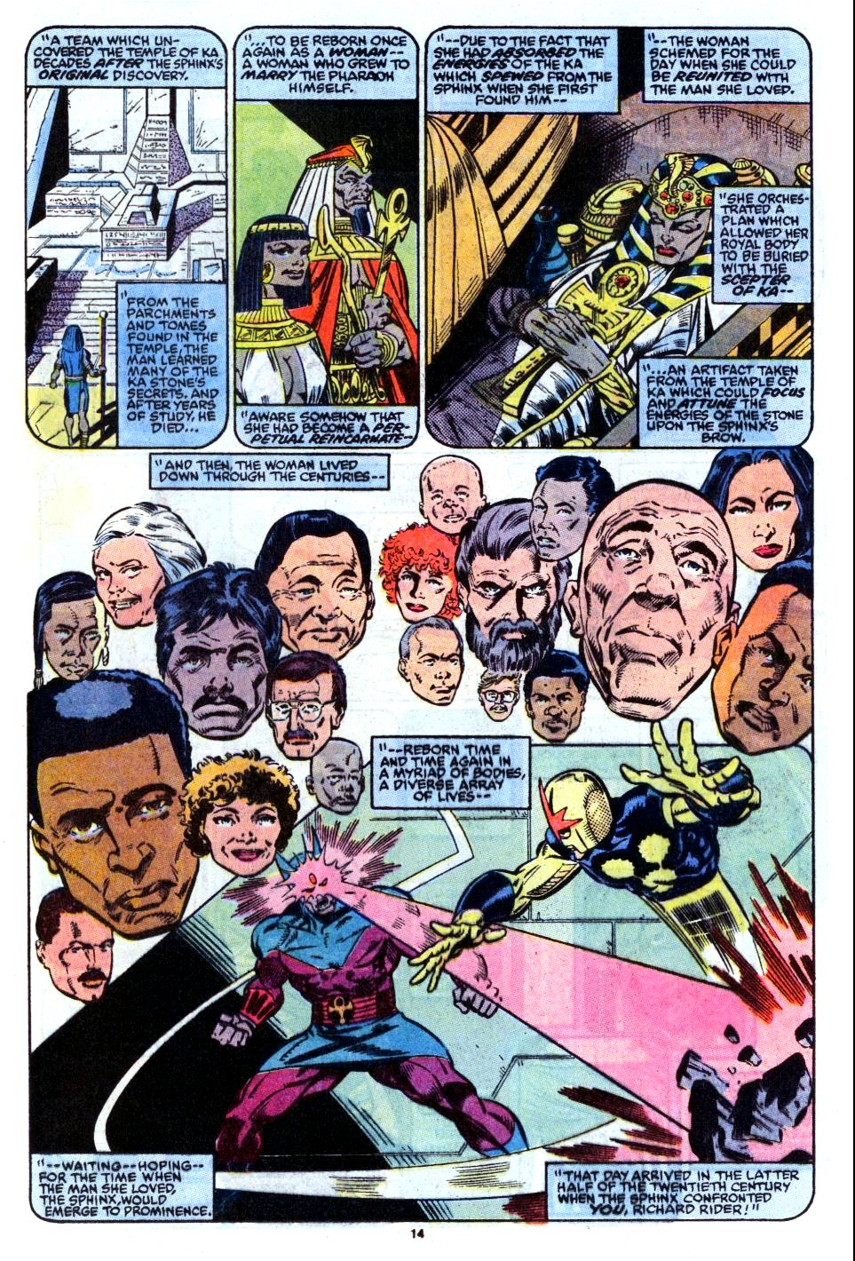 The New Warriors Issue #12 #16 - English 11
