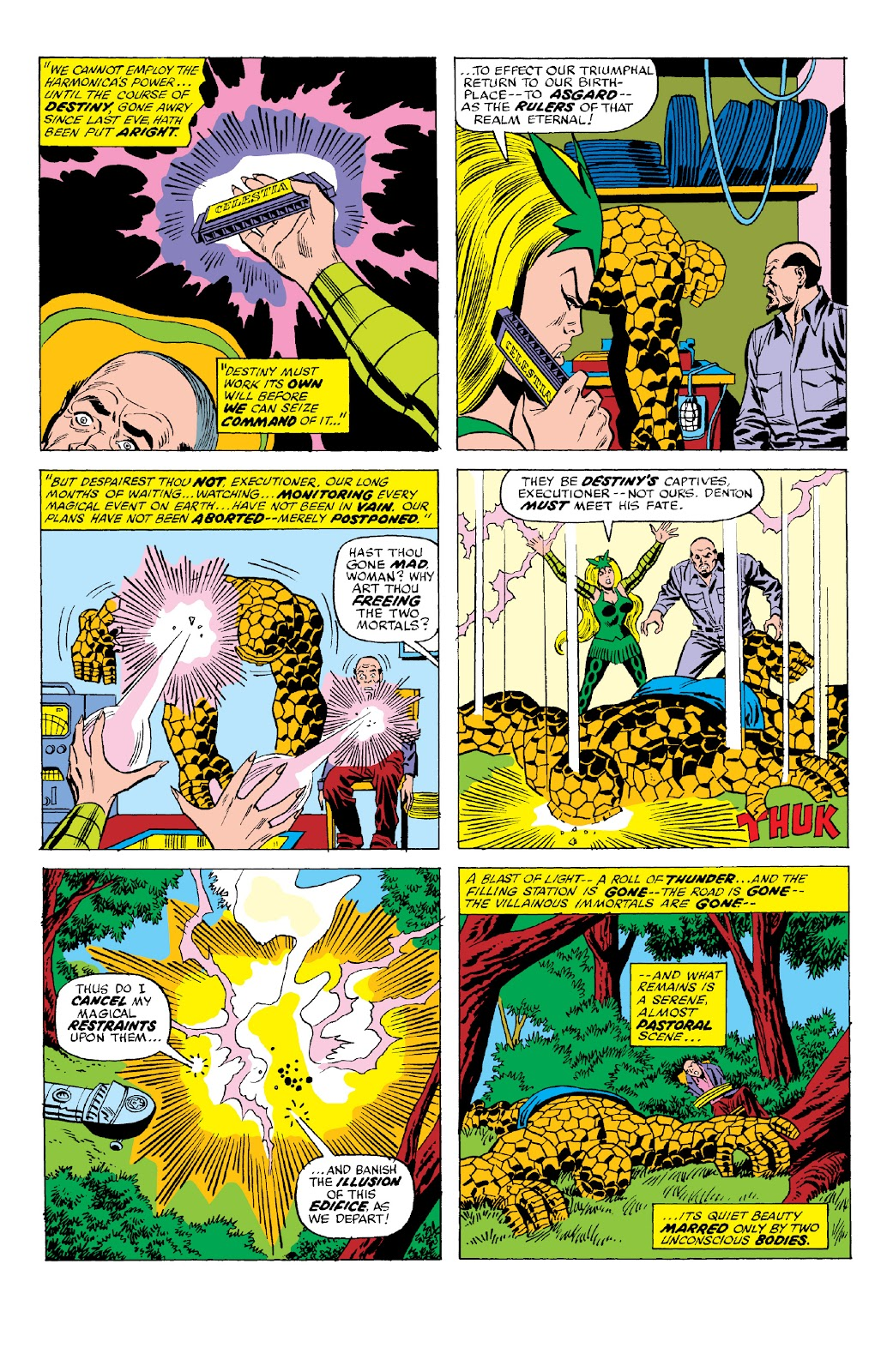 Read online Marvel Two-In-One Epic Collection: Cry Monster comic -  Issue # TPB (Part 2) - 69