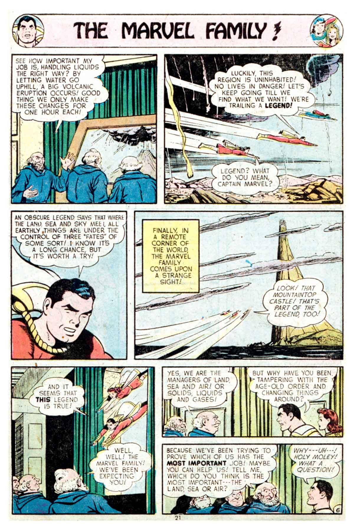 Read online Shazam! (1973) comic -  Issue #16 - 21