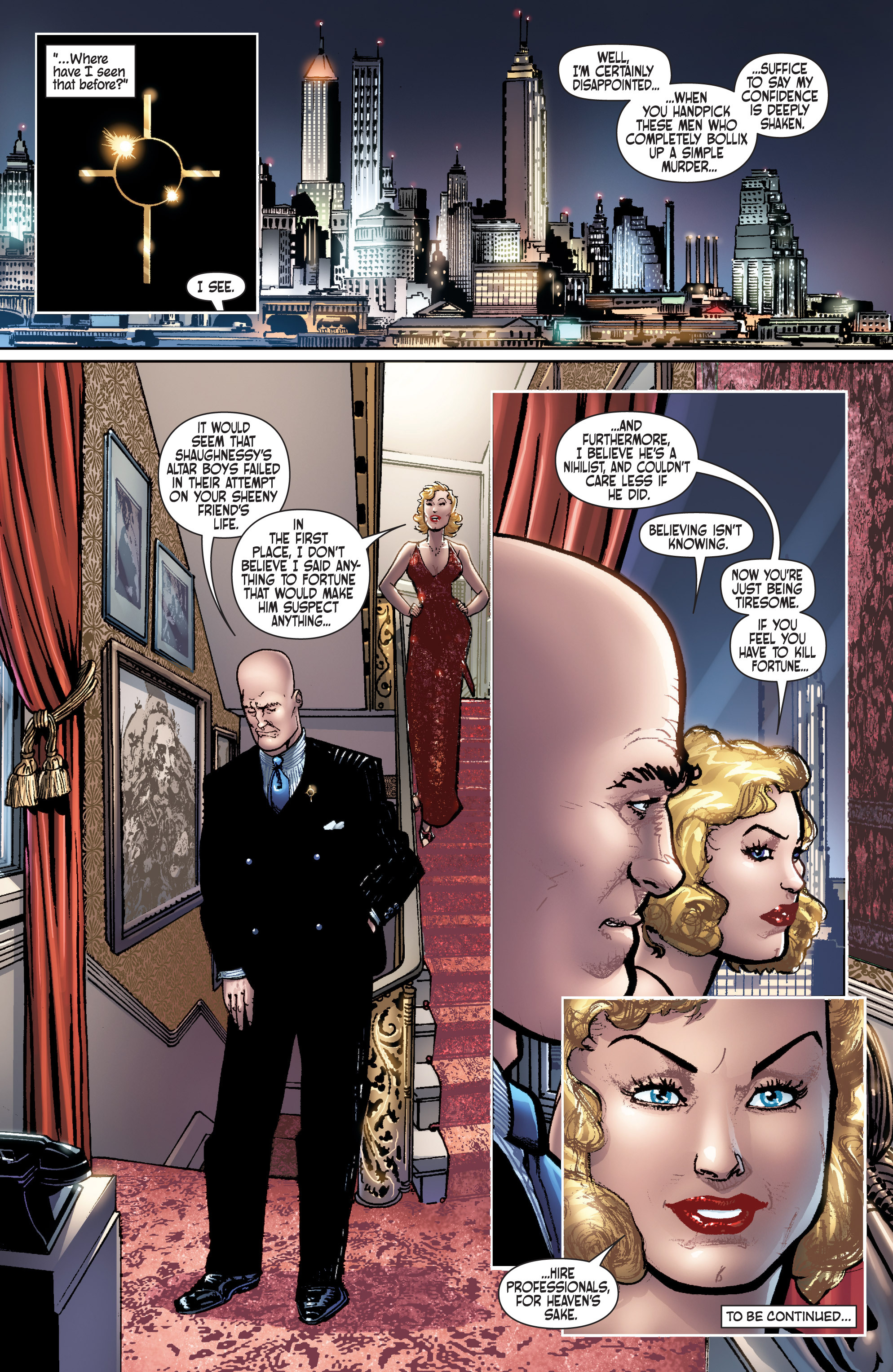 Read online Dominic Fortune comic -  Issue #1 - 23
