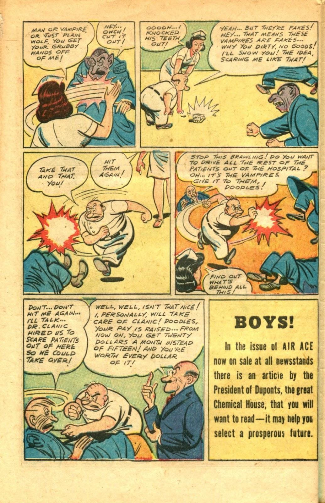 Read online Super-Magician Comics comic -  Issue #48 - 42