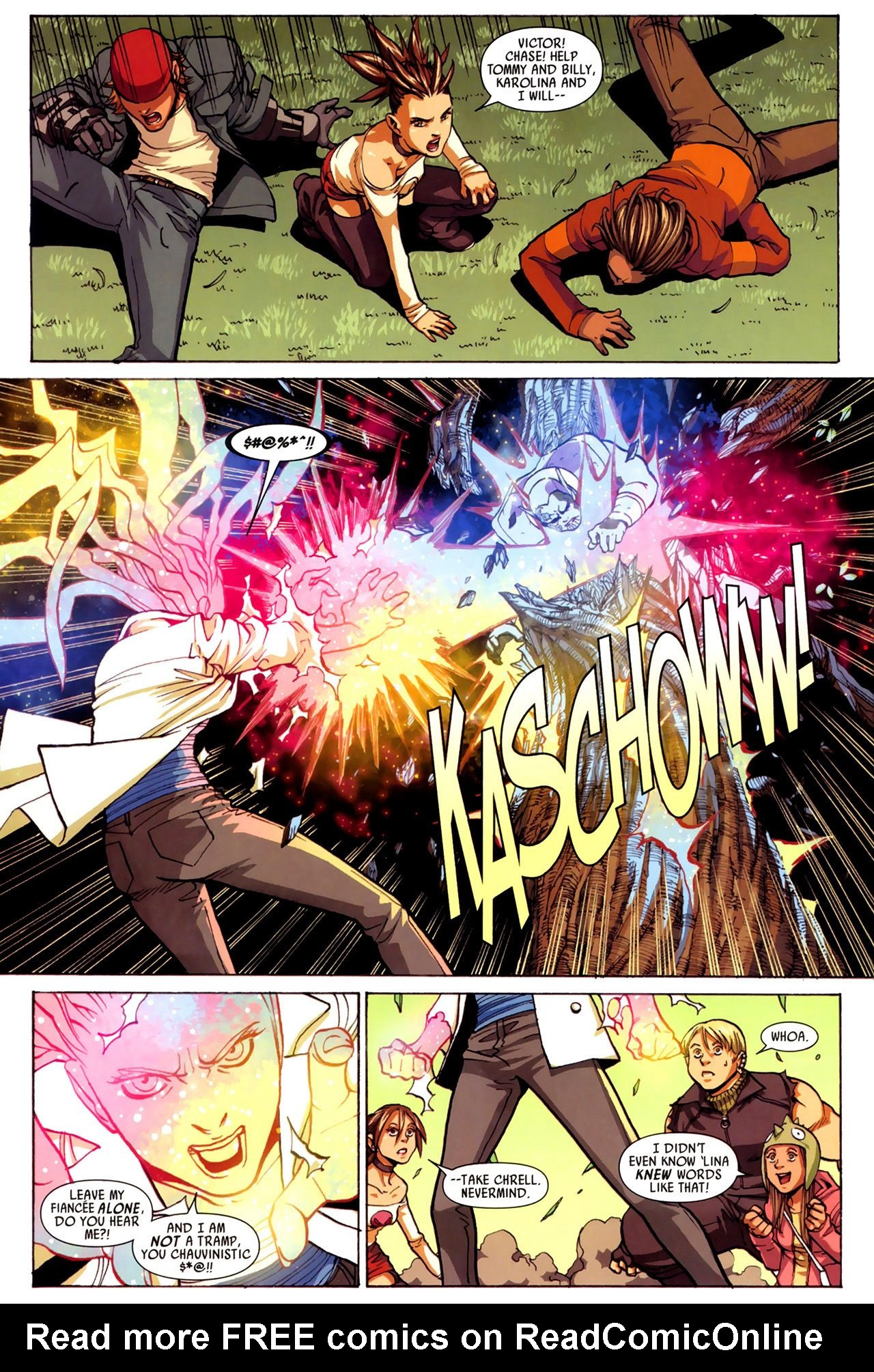 Read online Secret Invasion: Runaways/Young Avengers comic -  Issue #3 - 12