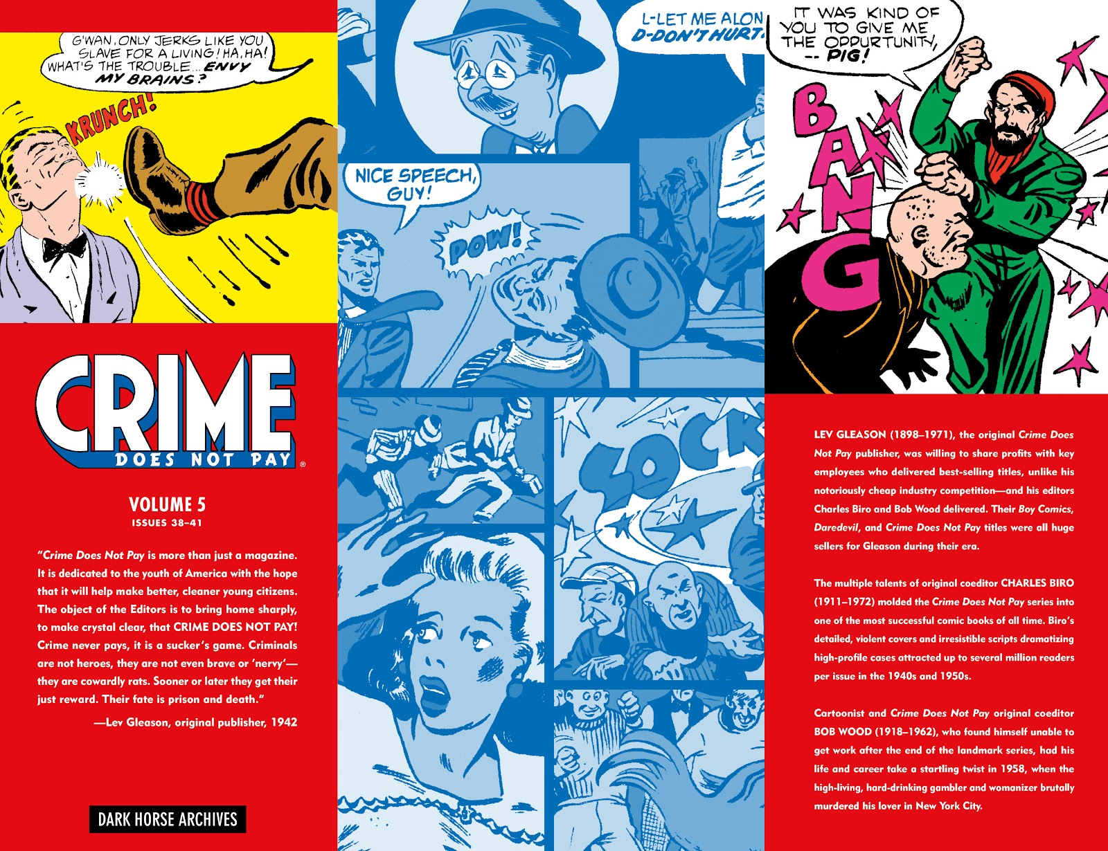 Read online Crime Does Not Pay Archives comic -  Issue # TPB 5 (Part 1) - 2